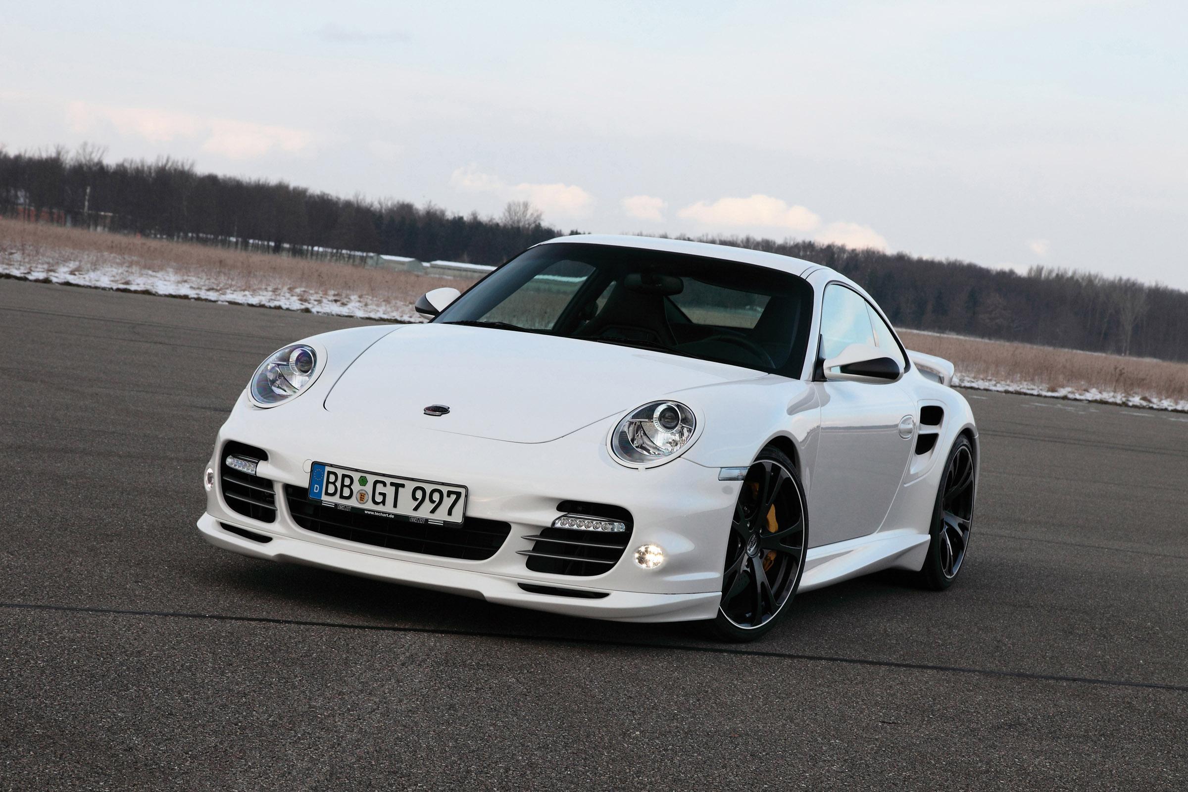 Techart S Porsche 911 Turbo S Fully Revealed Ahead Of