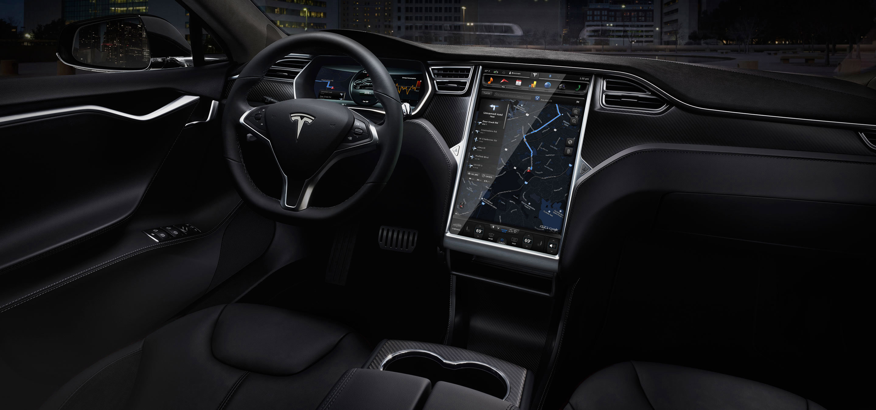 tesla enters dual motor model s all wheel drive in