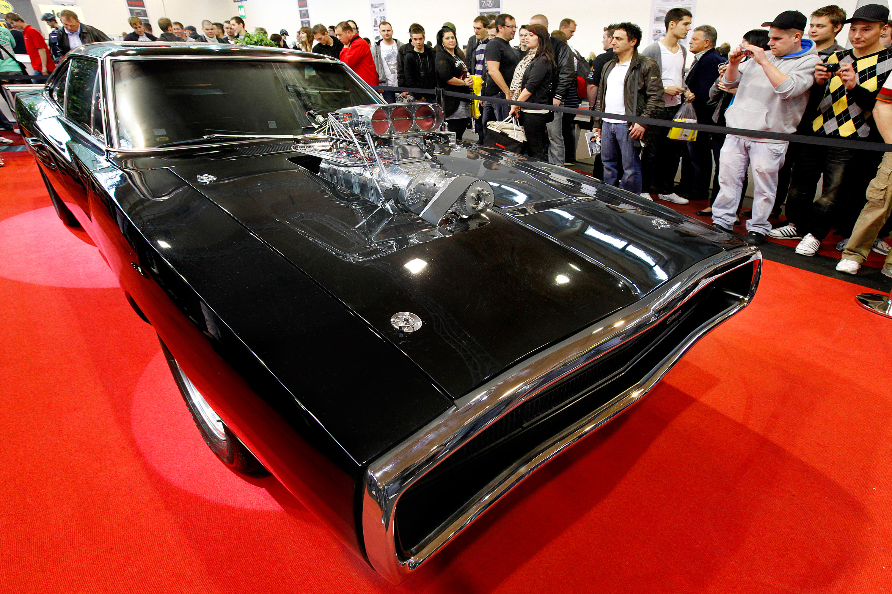 Iconic 1970 Dodge Charger At Tuning World Bodensee 2010
