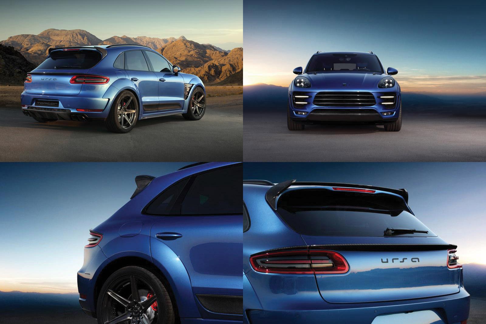 Top Car Porsche Macan Wide Body Kit
