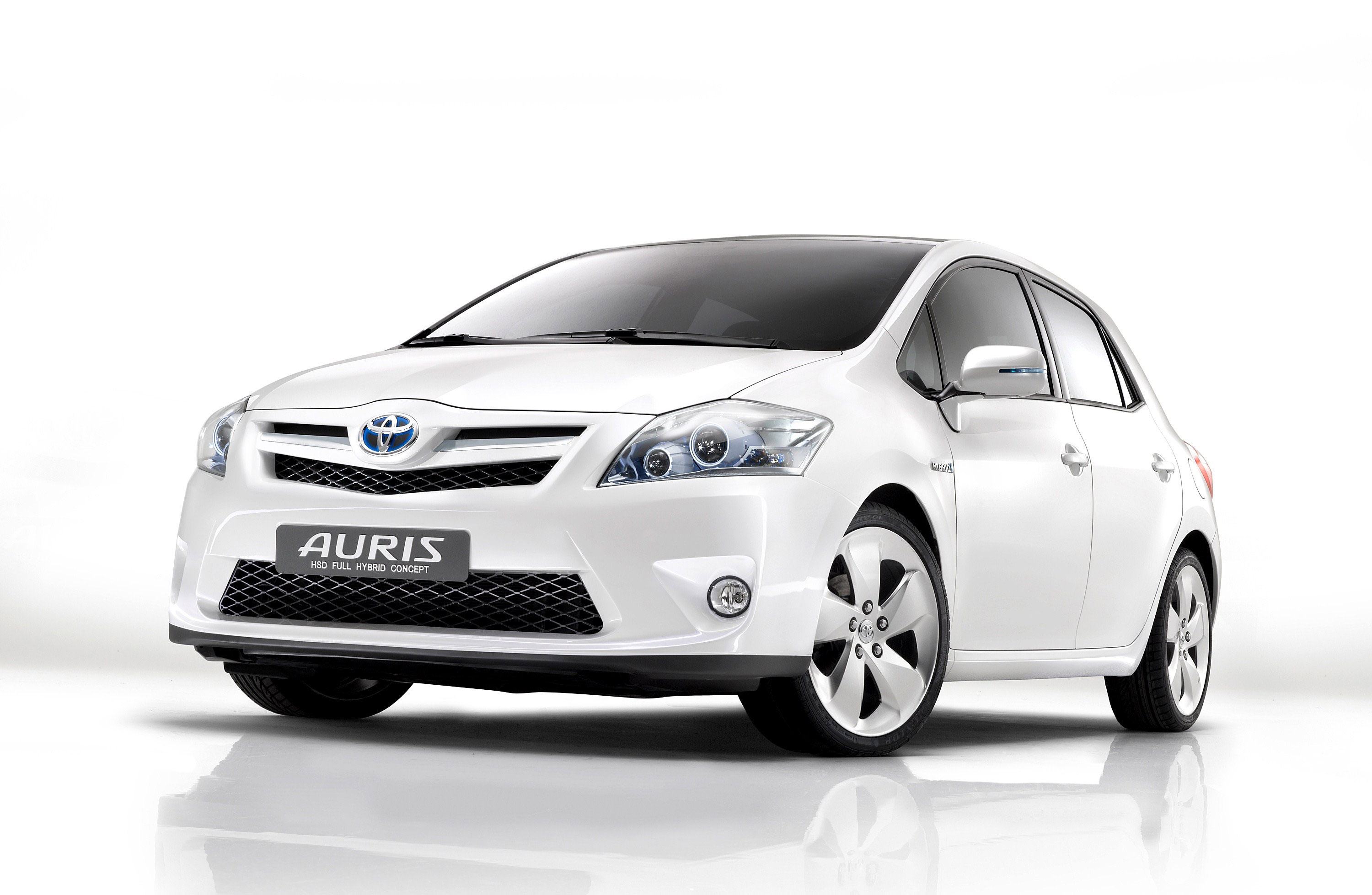 toyota auris hsd full hybrid concept. Black Bedroom Furniture Sets. Home Design Ideas