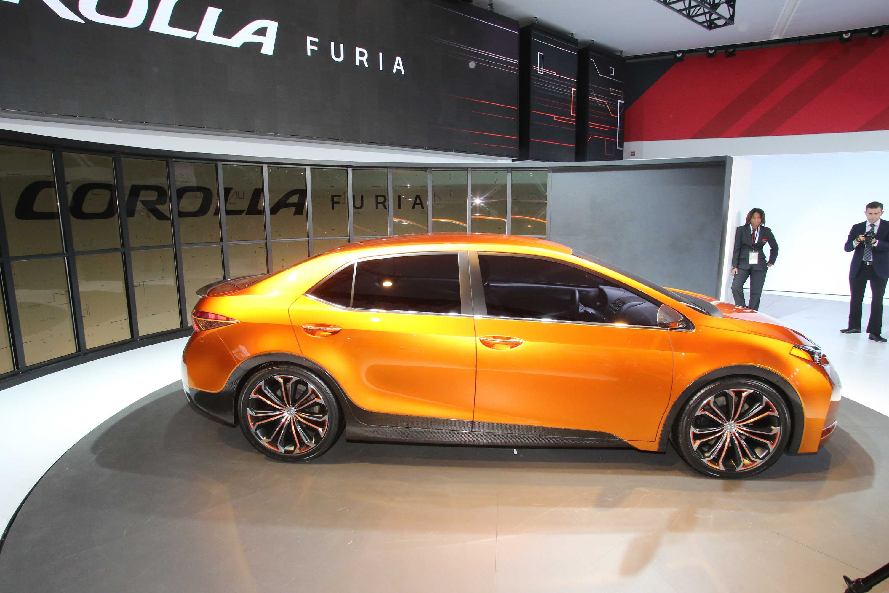 2013 Naias Toyota Corolla Furia Concept Makes Official