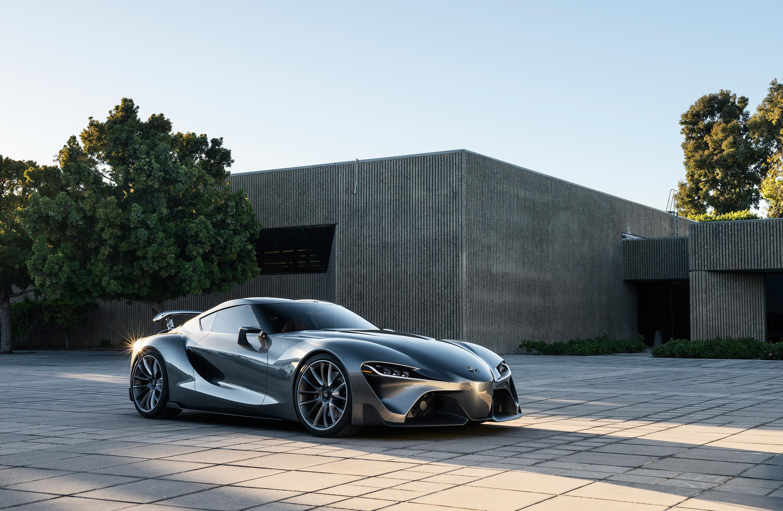 toyota previews second ft 1 sports car concept video. Black Bedroom Furniture Sets. Home Design Ideas