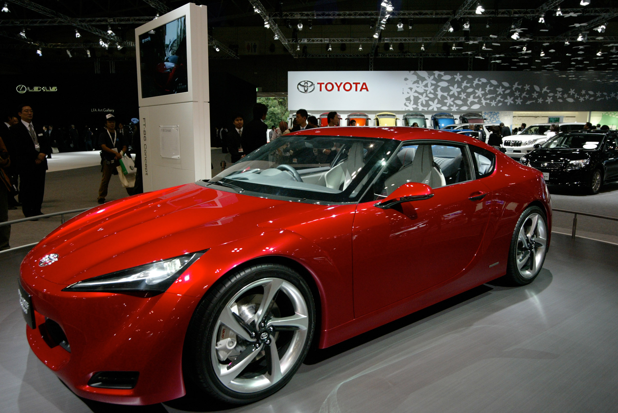 Toyota Ft 86 Concept Unveiled At 41st Tokyo Motor Show