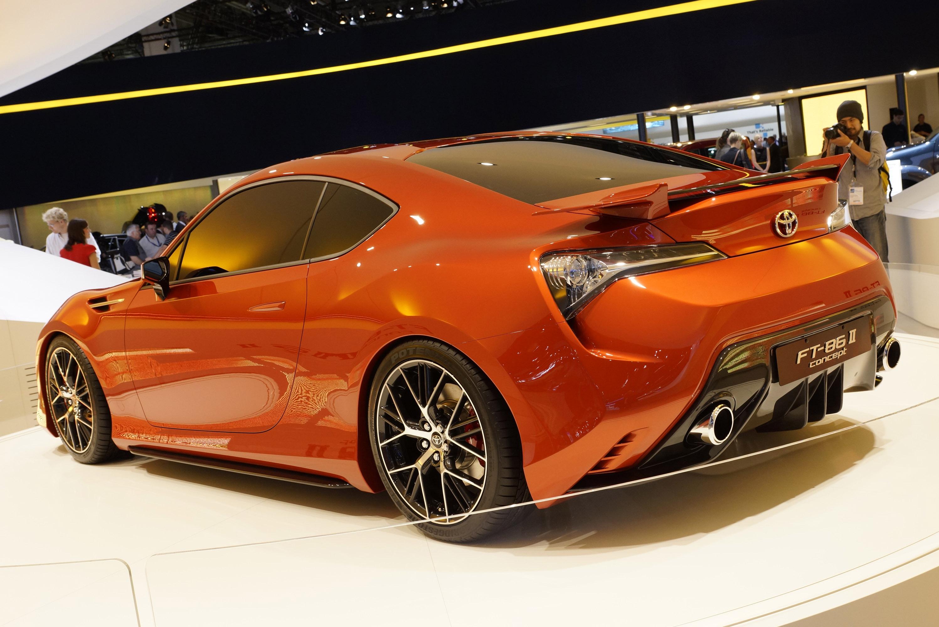 Toyota ft 86 ii concept frankfurt