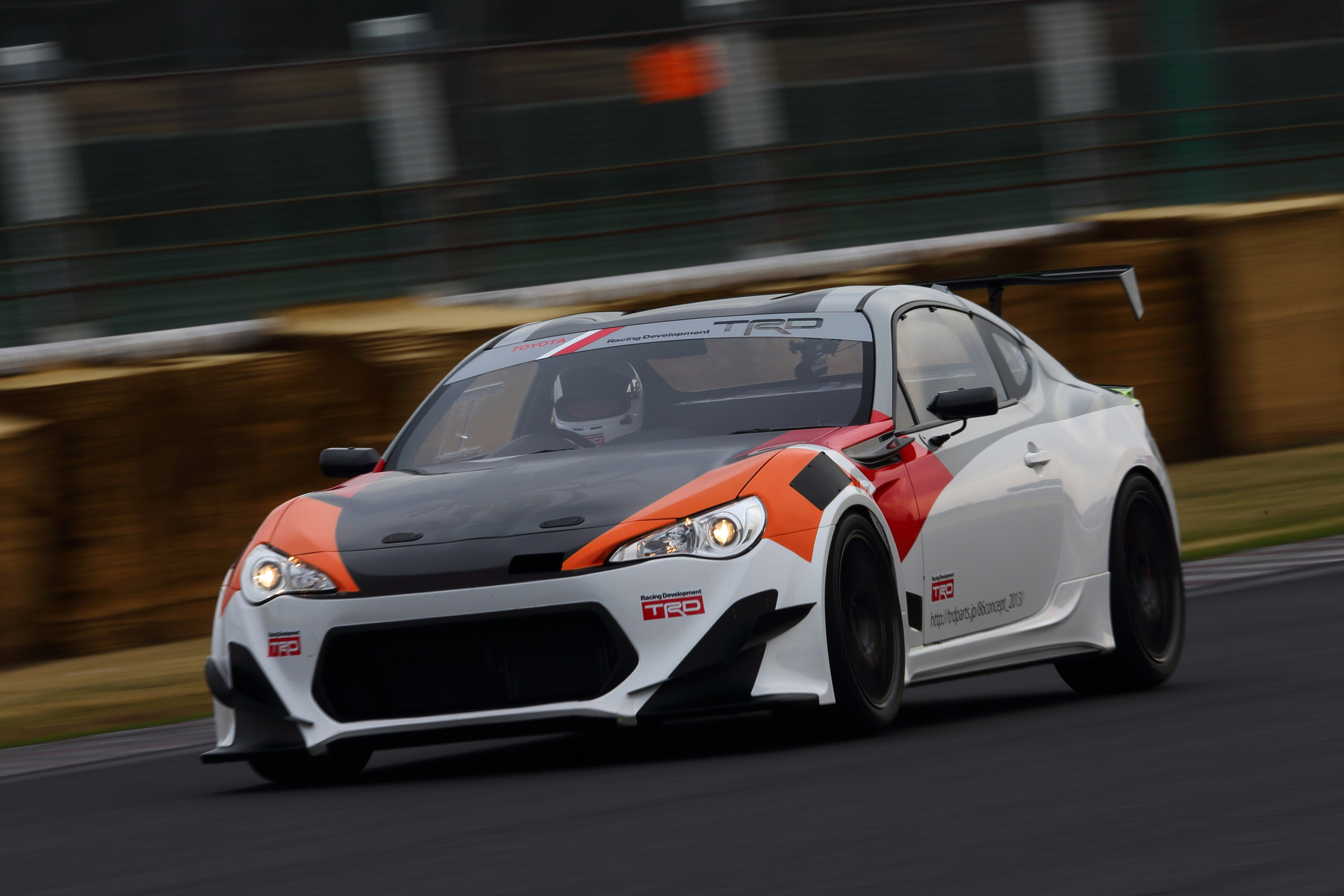Debut Of Toyota Gt 86 Trd Griffon Project At Goodwood Video