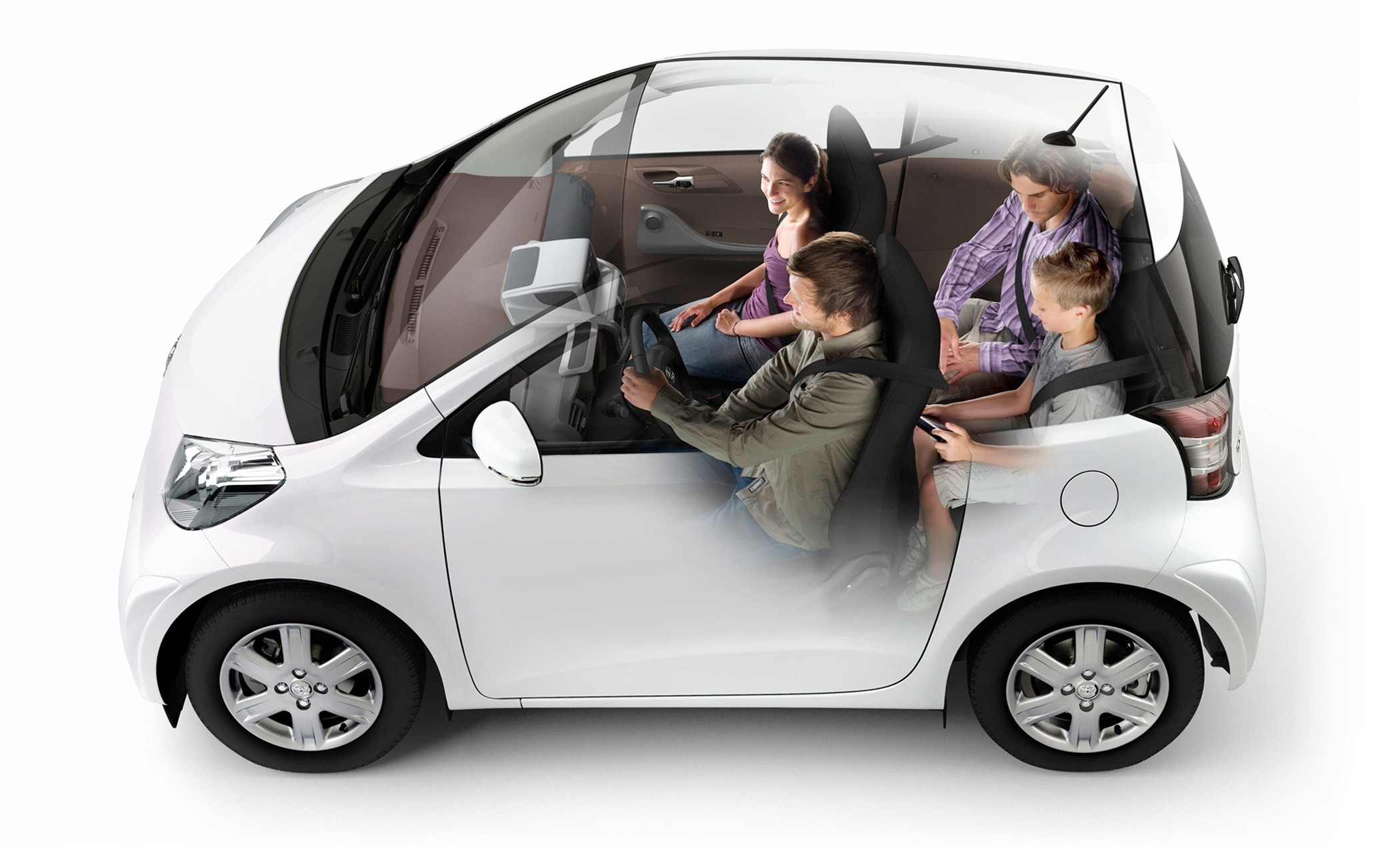 Toyota iQ: Six Degrees Of Innovation - No6