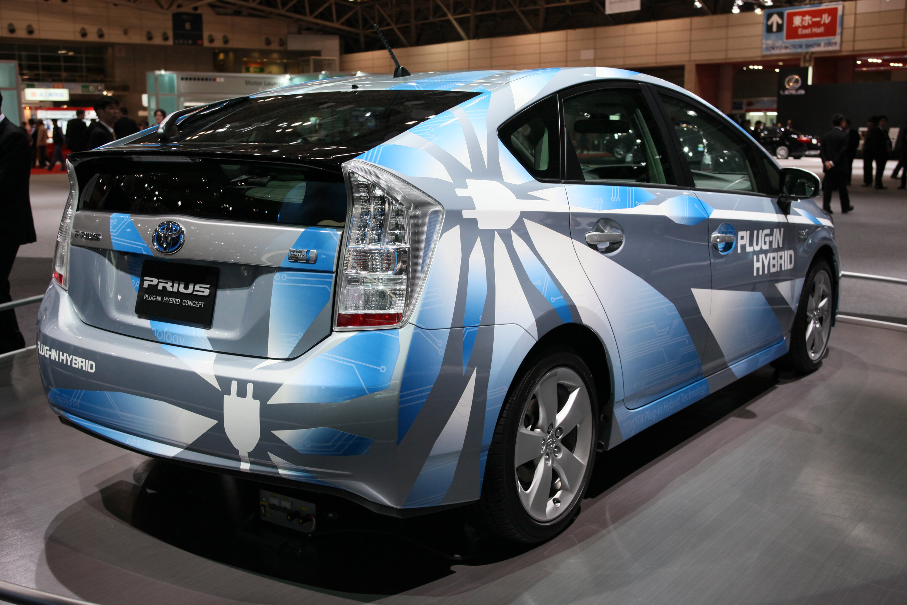 toyota prius plug in hybrid concept tokyo 2009 picture 27544. Black Bedroom Furniture Sets. Home Design Ideas