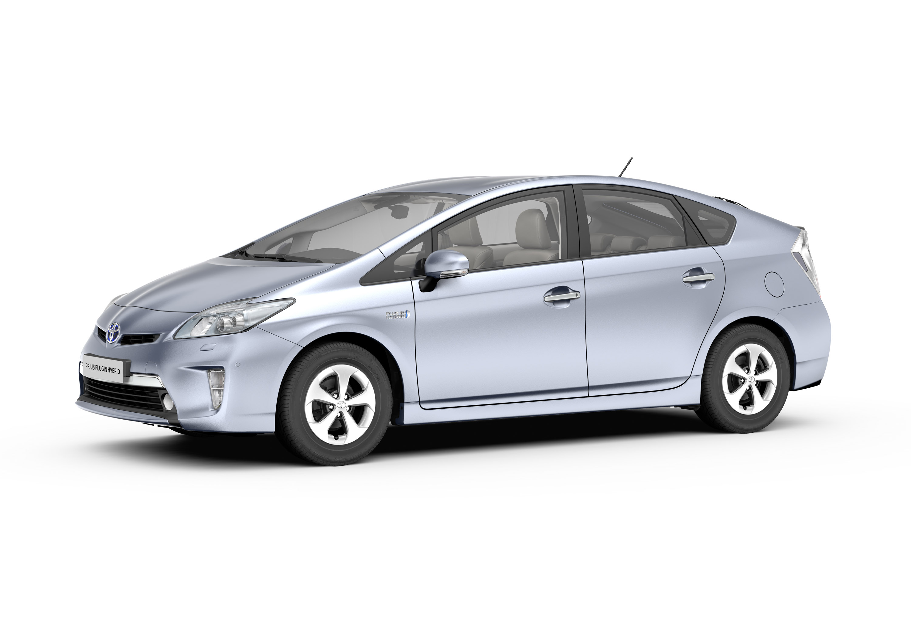 Toyota Prius Plug In Hybrid Electric Vehicle Phev At The
