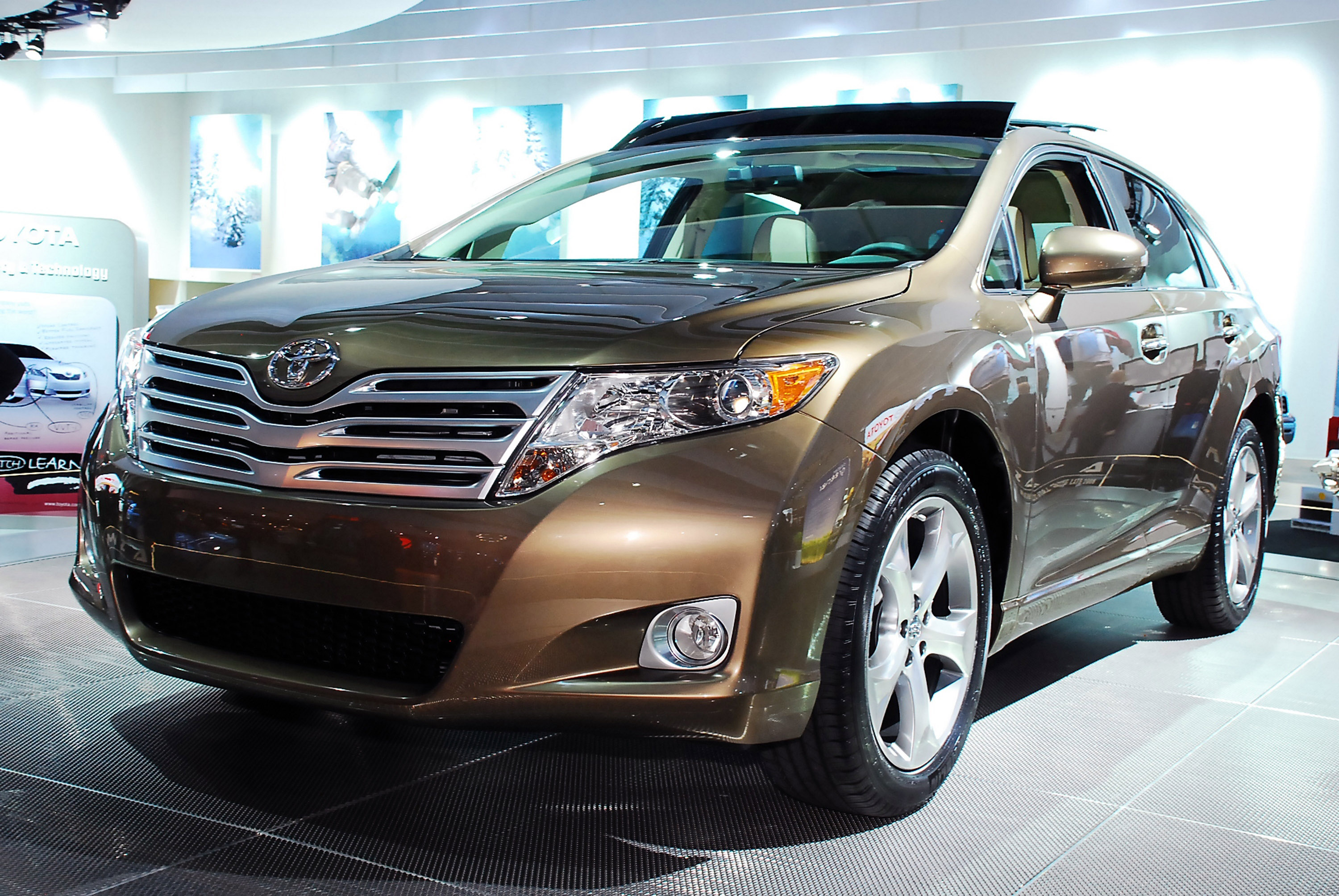 california review cruising our red venza of car beach the ride toyota front in at sweet coast on