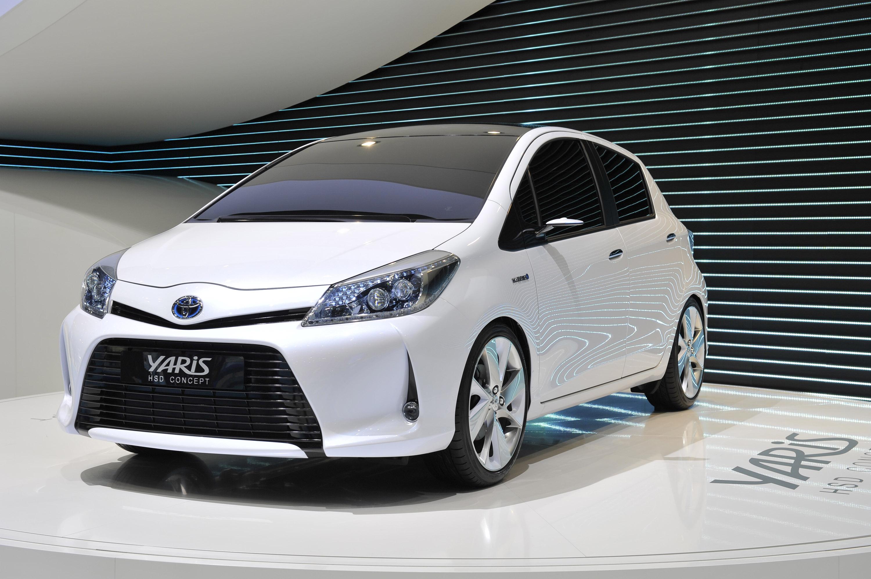 Toyota Yaris Hsd Concept Geneva 2011 Picture 50376