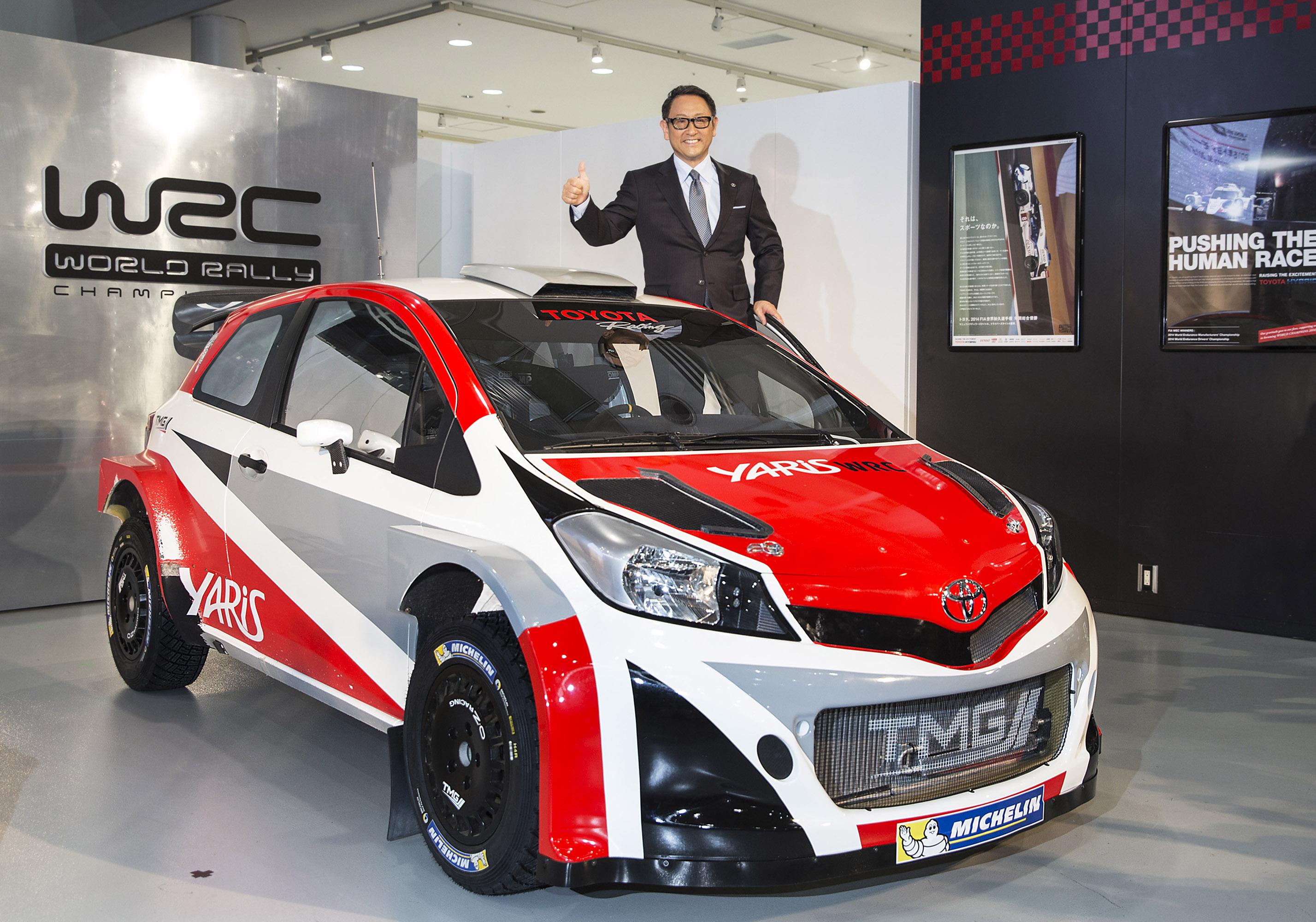 The New Yaris Wrc Car