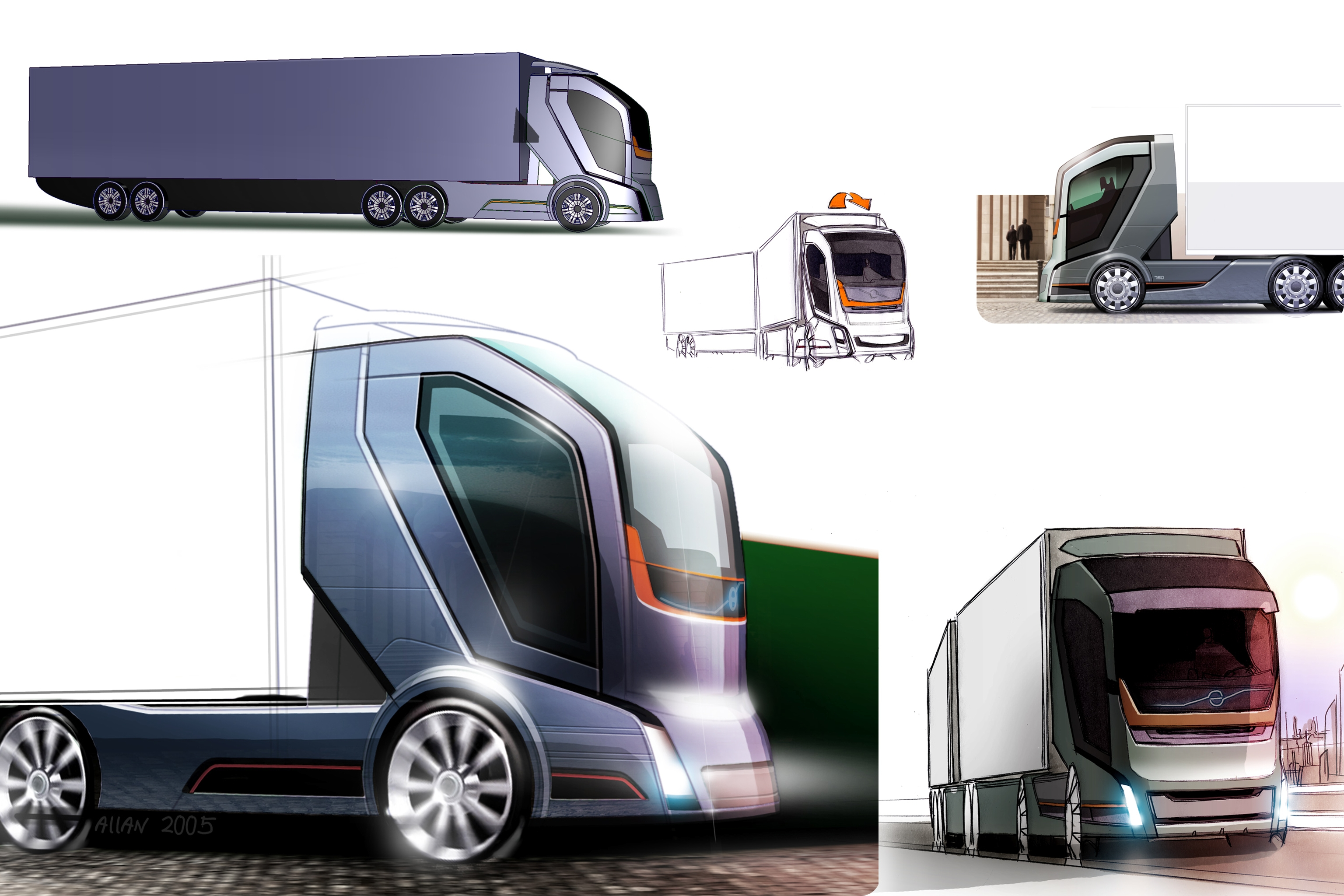 Pictures Of Future Trucks: Safer And More Efficient