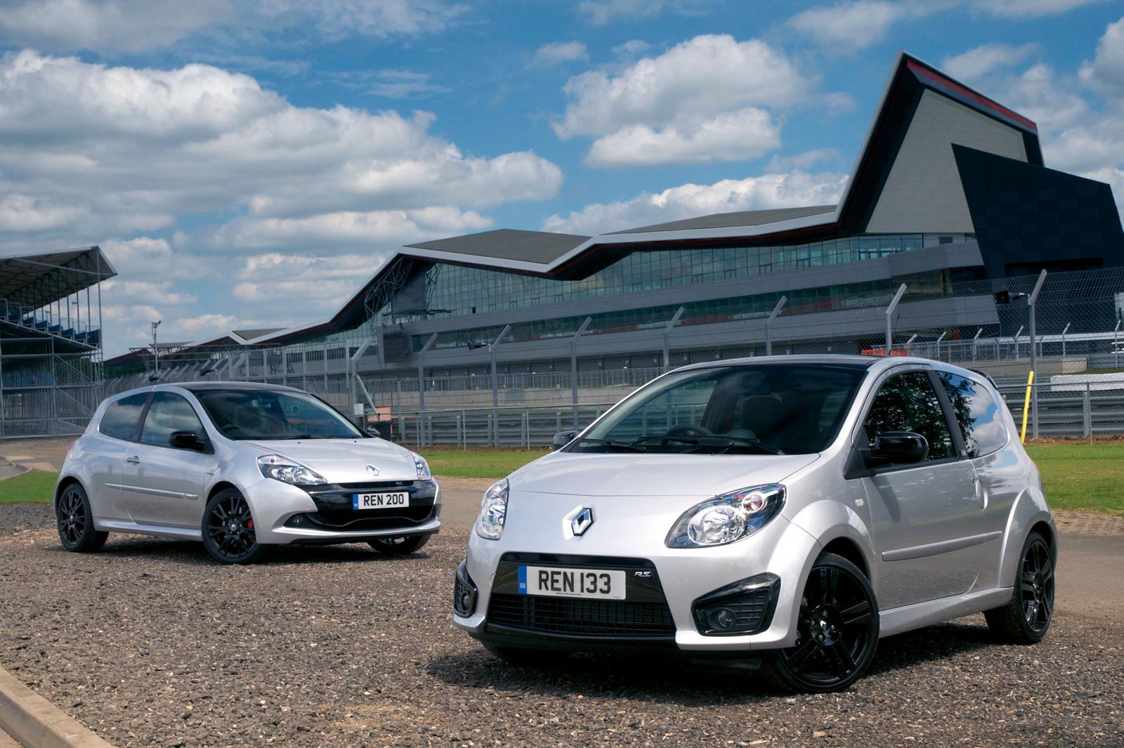 twingo renaultsport 133 and clio renaultsport 200 silverstone gp. Black Bedroom Furniture Sets. Home Design Ideas