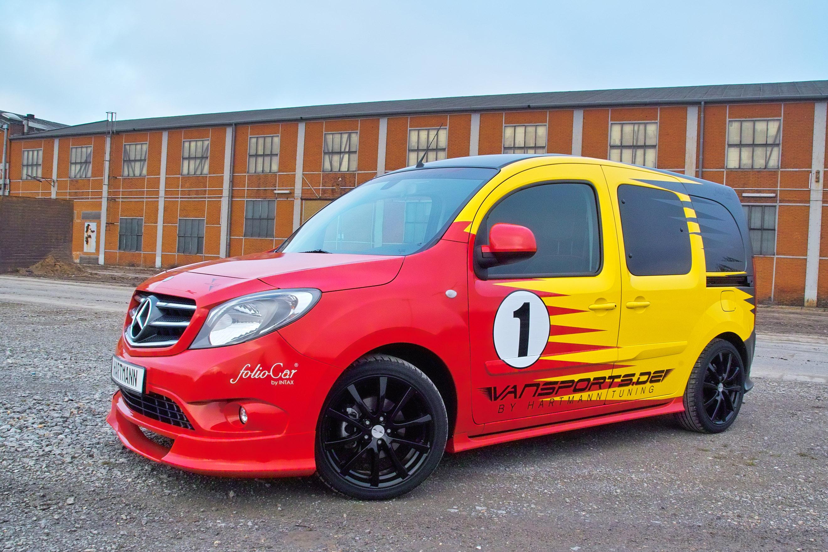 Mercedes Work Van >> VANSPORTS by Hartmann Present the Mercedes-Benz Citan MetroStream