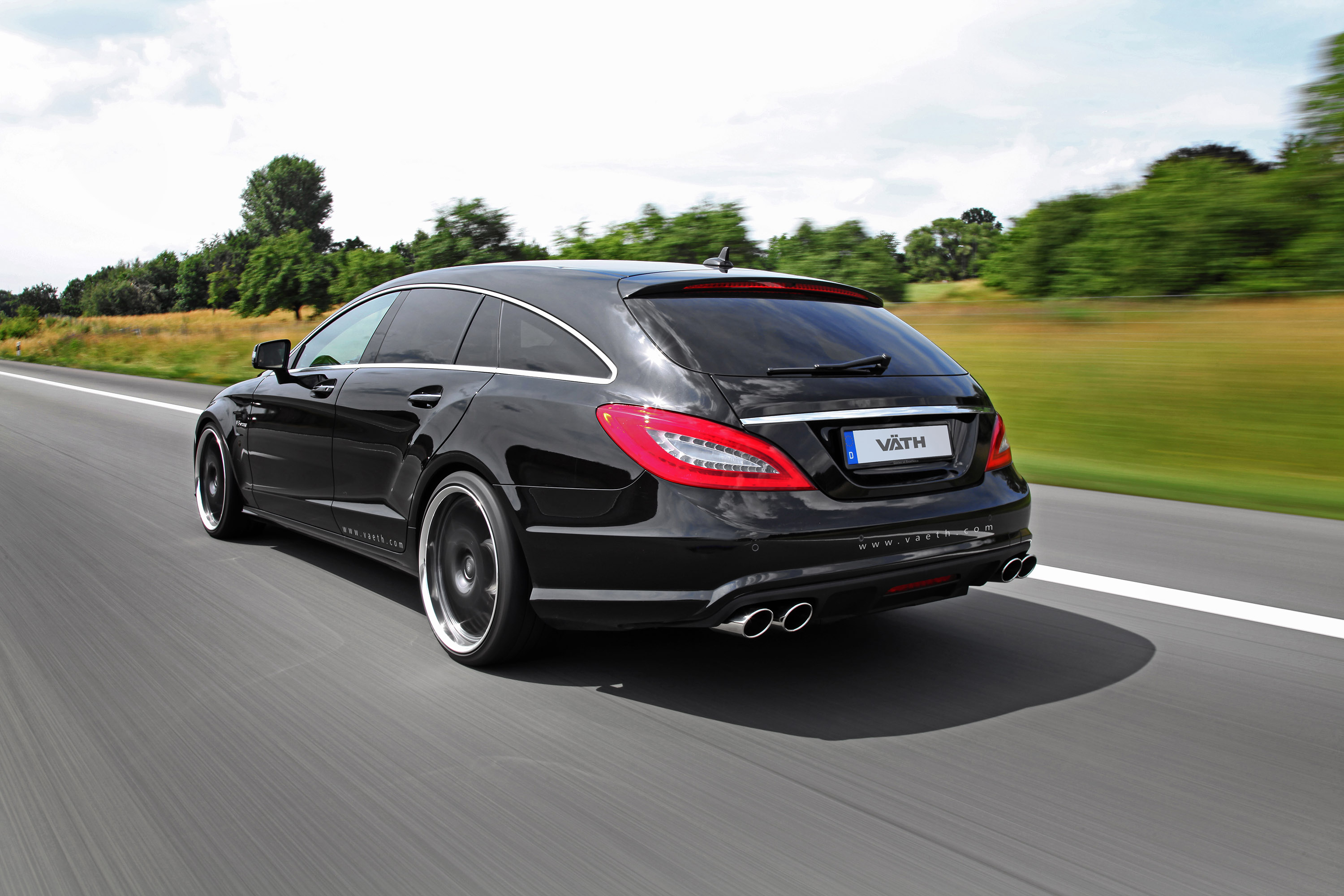 vath mercedes benz cls 63 amg shooting brake 846hp and 1. Black Bedroom Furniture Sets. Home Design Ideas