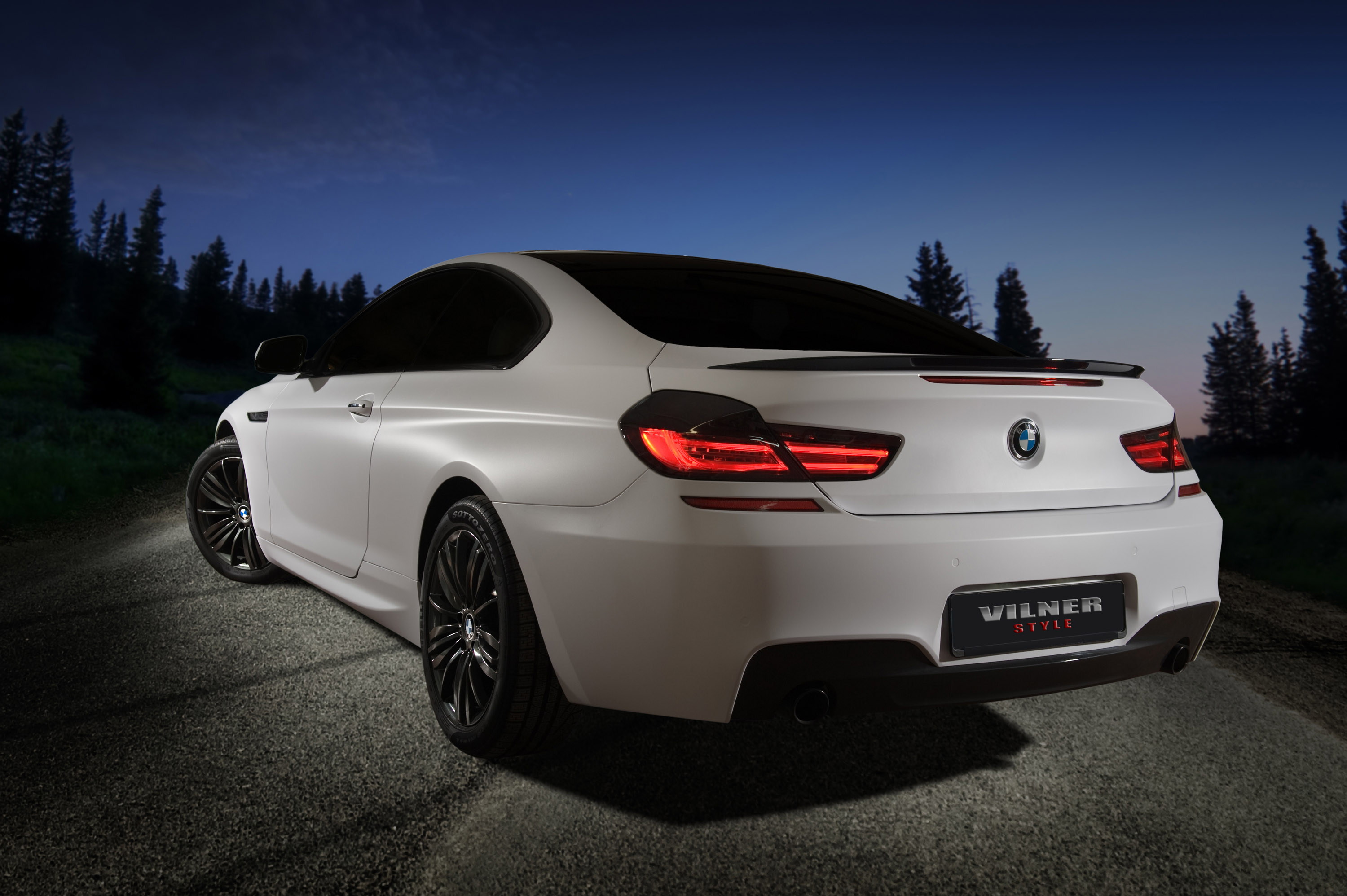 Winter Tale Vilner Transforms Bmw 5 Series F10 And 6