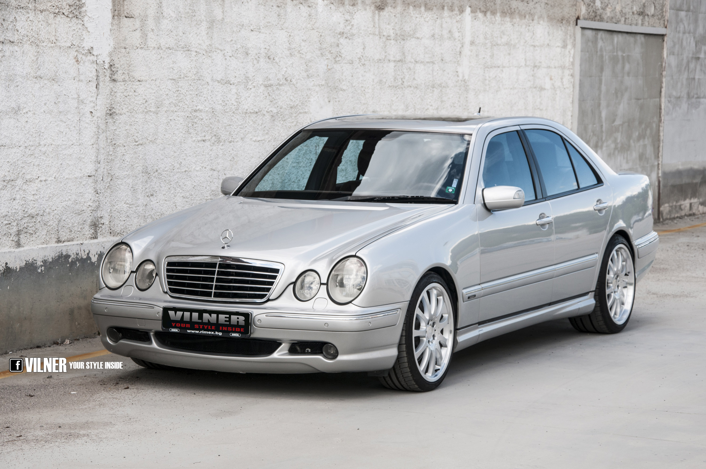 Mercedes benz e55 amg 4matic by vilner for Mercedes benz in md