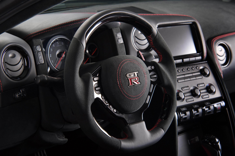 Красный салон Nissan  № 2584931  скачать