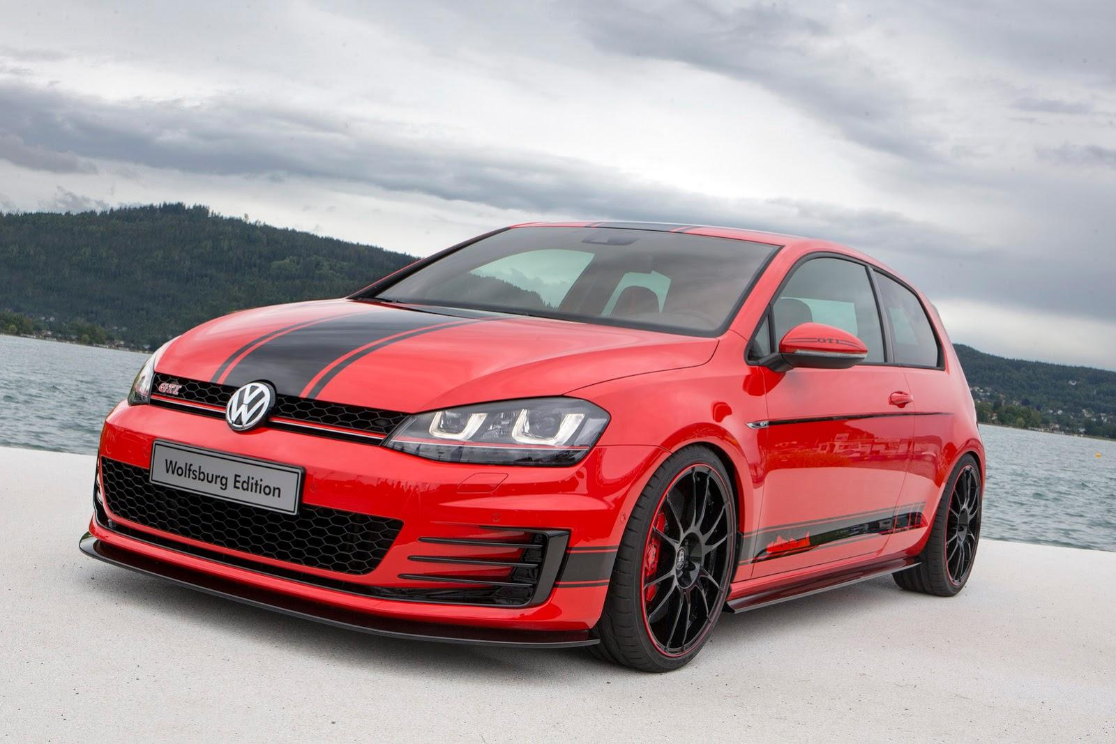 volkswagen golf gti wolfsburg edition at worthersee. Black Bedroom Furniture Sets. Home Design Ideas