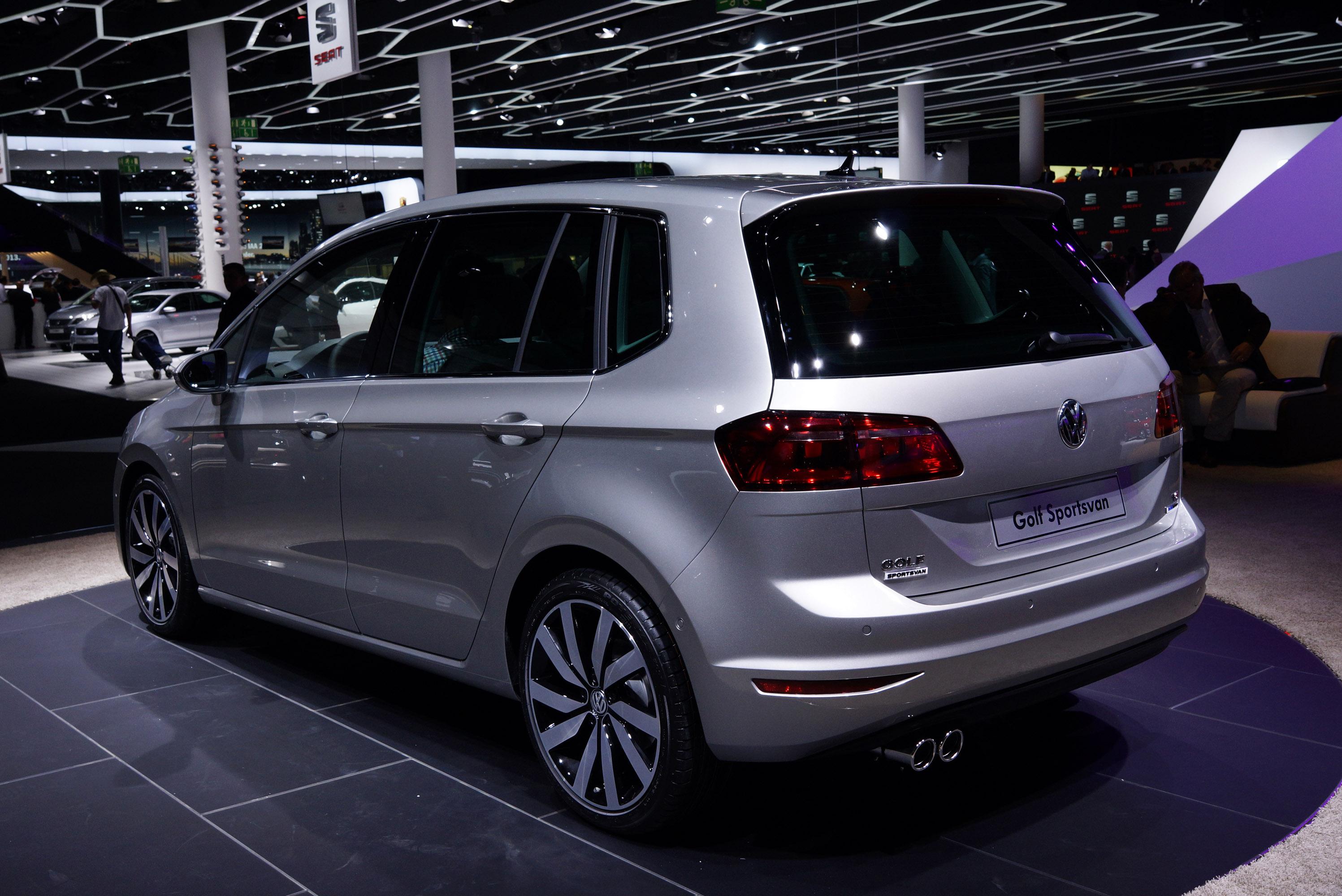 Volkswagen Golf Sportsvan Frankfurt 2013 Picture 89394