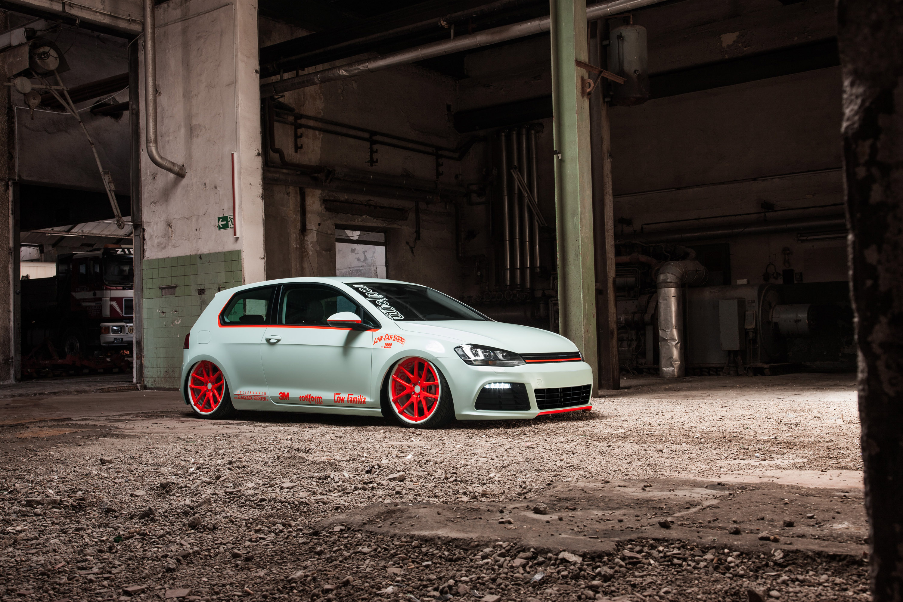 Volkswagen Golf Vii Light Tron By Blackbox Richter And Low