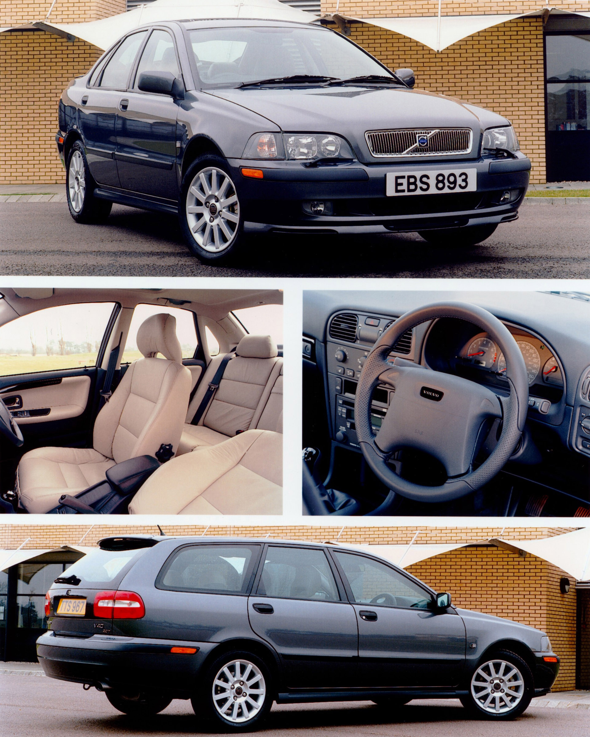 Volvo S40 Wallpaper: 2001 Volvo S40