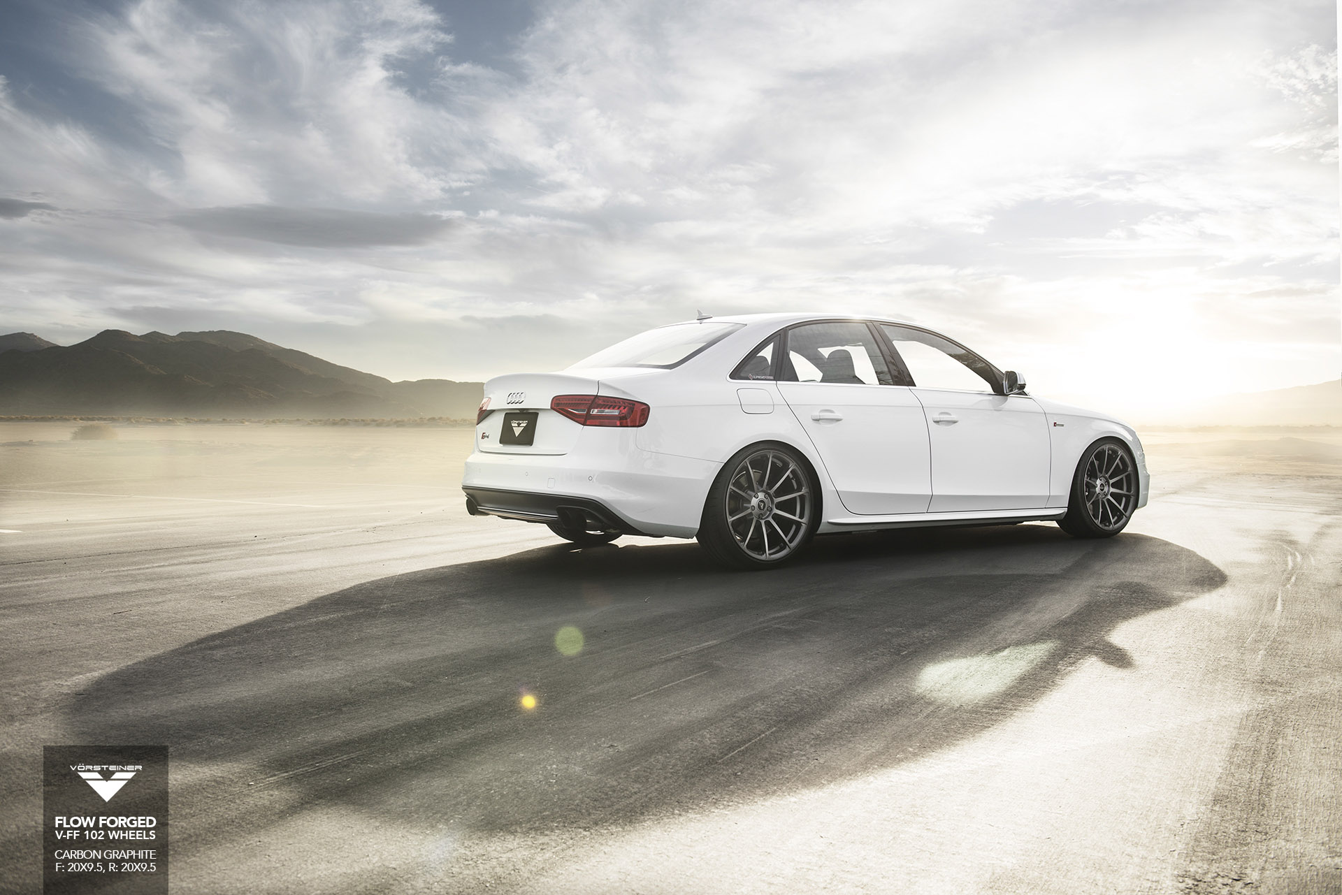 Audi A4 S4 Wheels Rims V Ff 102 Flow Forged Wheels Custom Rims Vorsteiner Wheels