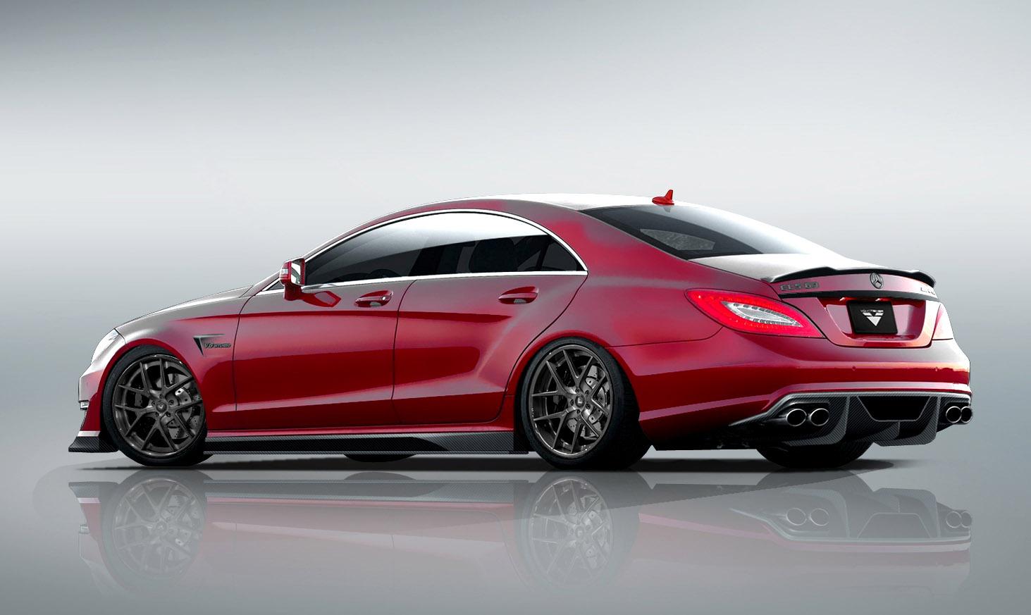 Vorsteiner adds to the mercedes benz cls 63 amg for Mercedes benz cls 63 amg coupe