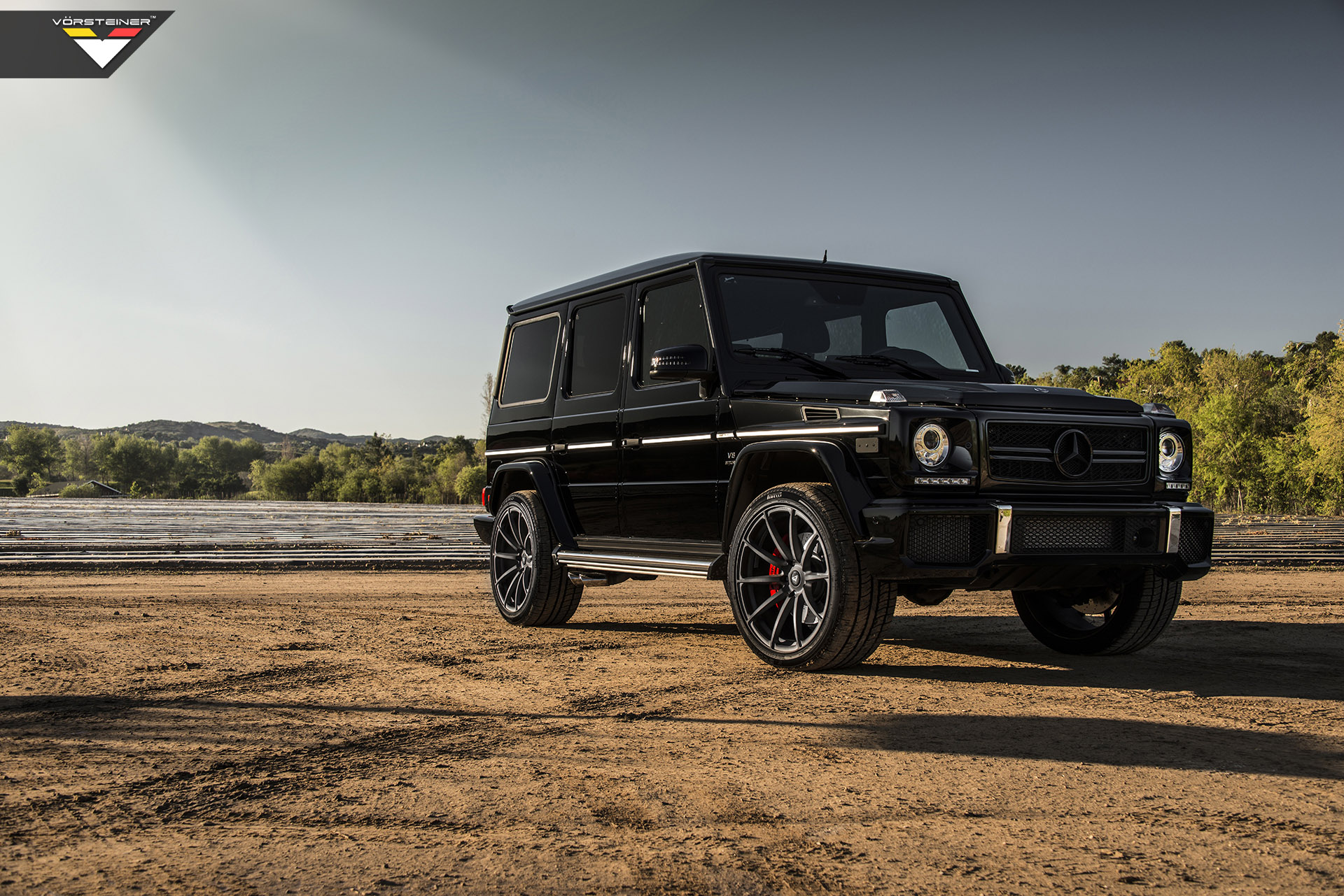 vorsteiner is working on mercedes benz g63 amg. Black Bedroom Furniture Sets. Home Design Ideas