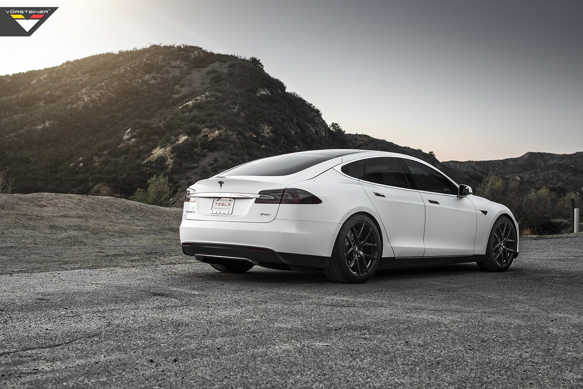 tesla model s with vorsteiner flow forged v ff 101 wheels. Black Bedroom Furniture Sets. Home Design Ideas