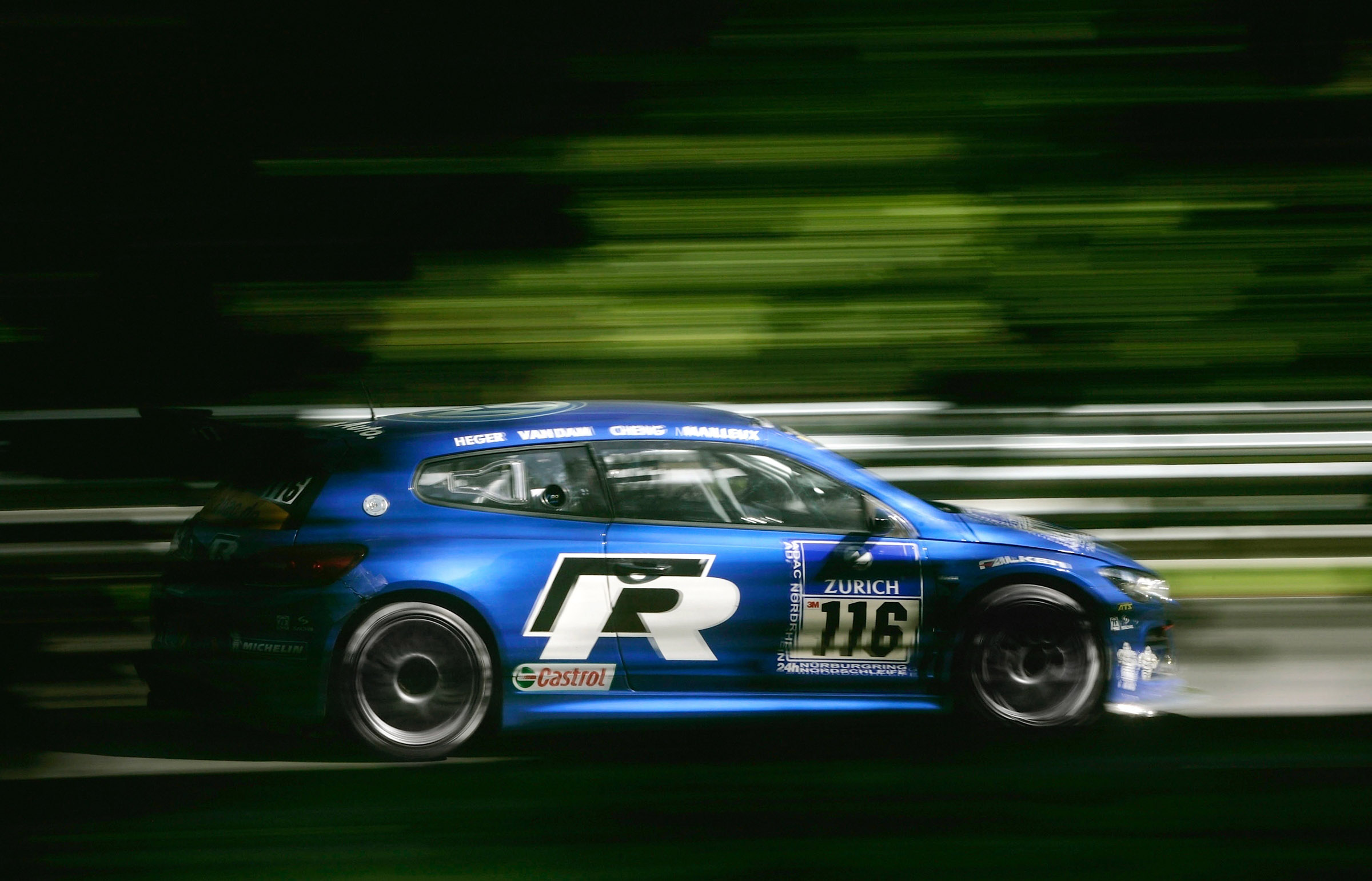 scirocco gt captures  class wins  nurburgring hrs