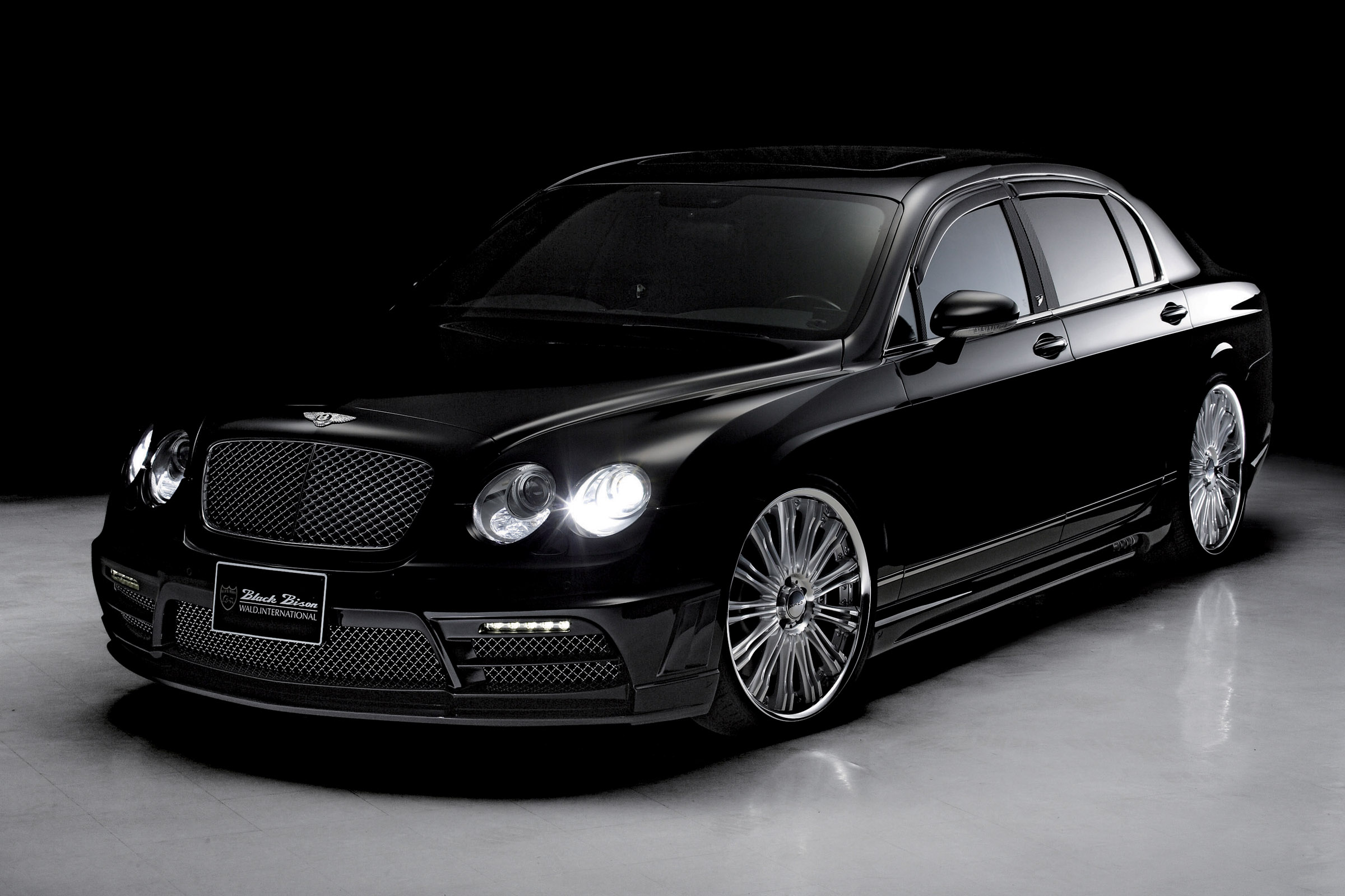 Wald releases new luxury kit for the bentley continental for The bentley