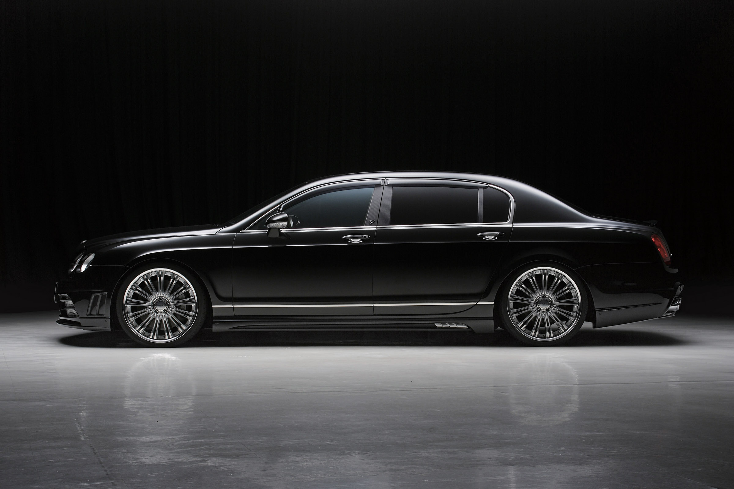 wald releases new luxury kit for the bentley continental flying spur