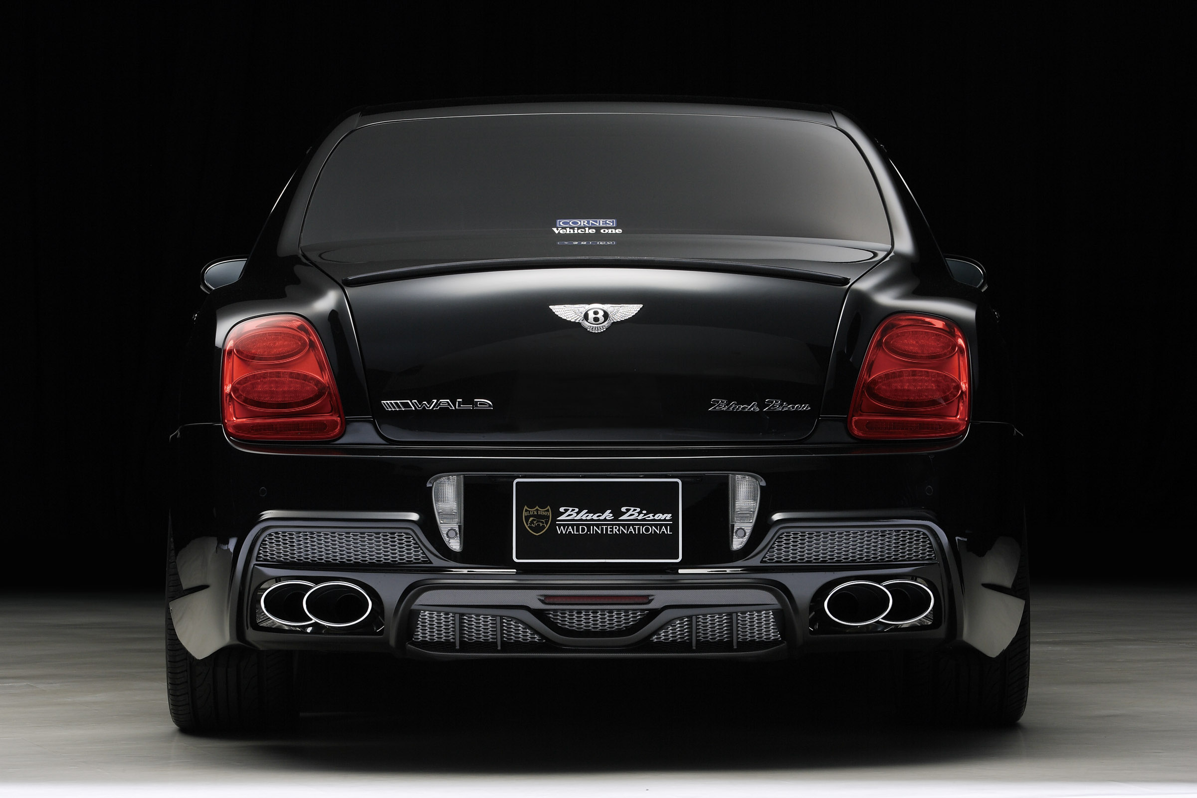 WALD Bentley Continental Flying Spur Black Bison Edition ...