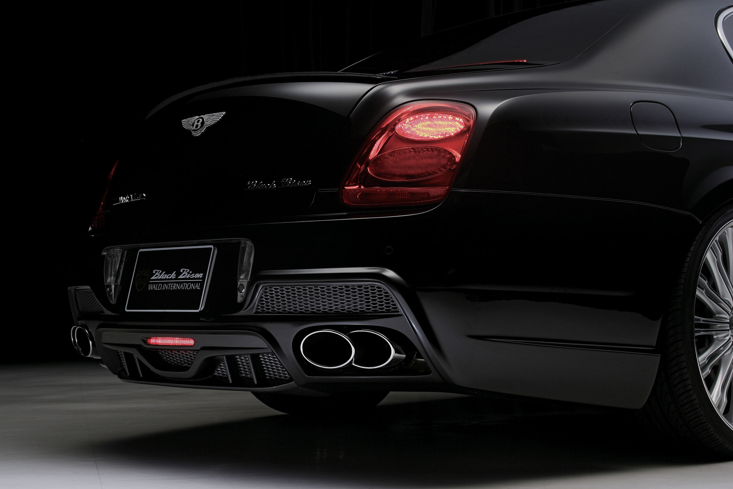 WALD releases new luxury kit for the Bentley Continental ...