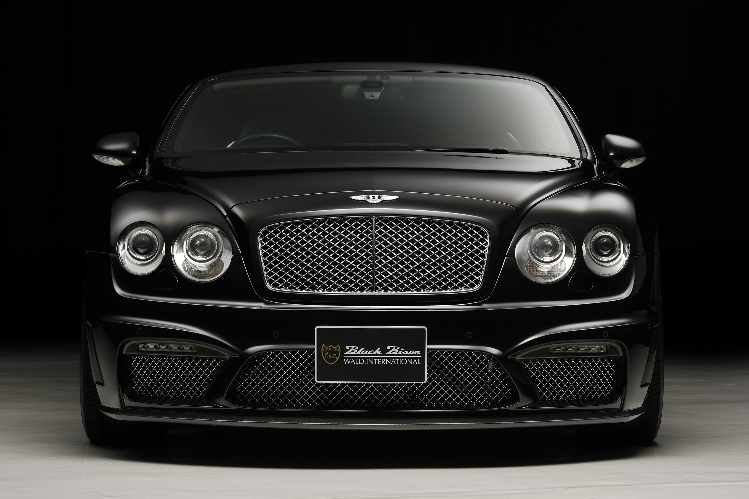 Wald Bentley Continental Gt Black Bison Edition Picture