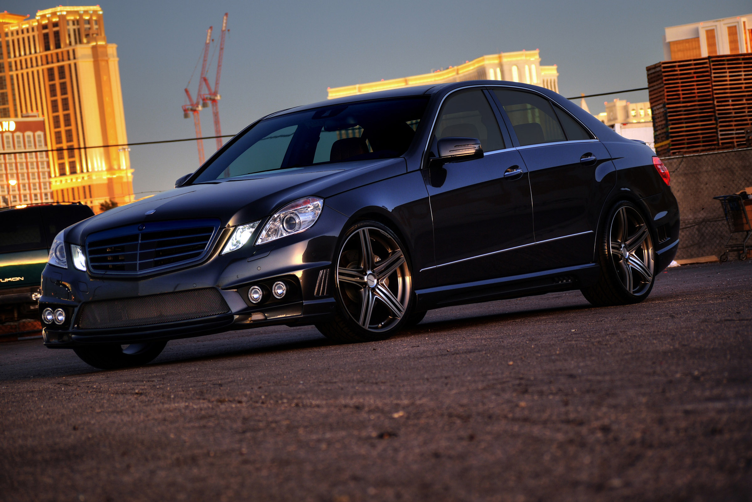 Tuning Mercedes-Benz.