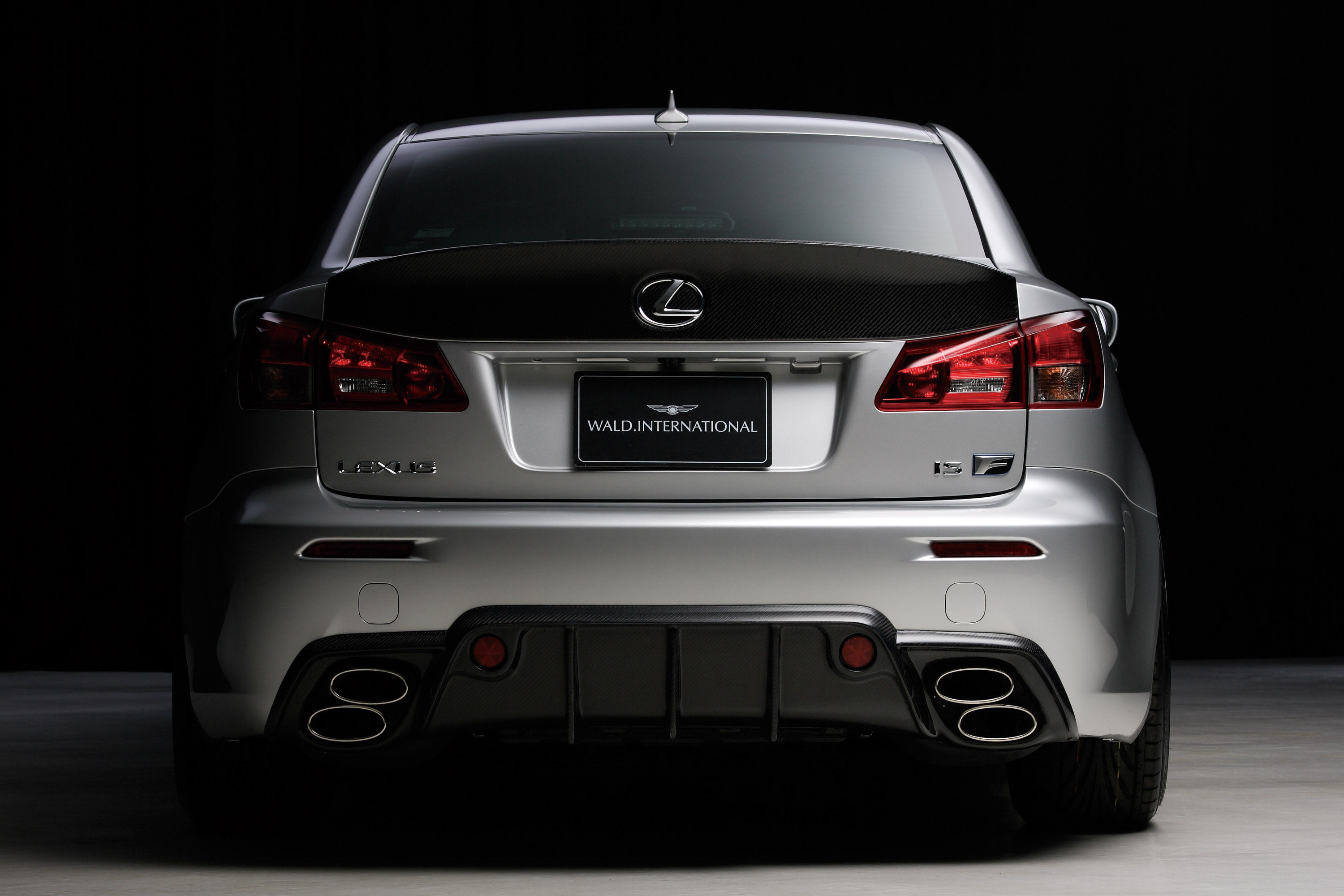 wald lexus is f sports line black bison edition picture. Black Bedroom Furniture Sets. Home Design Ideas