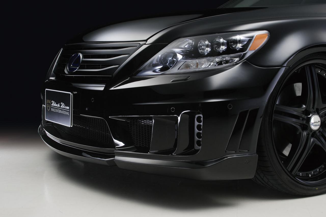 Mercedes Roadside Assistance >> Wald Lexus LS600h Black Bison Edition
