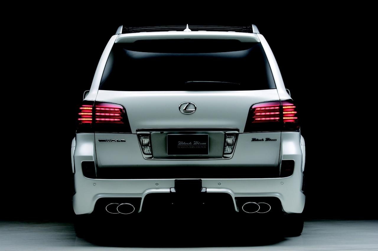 Wald Lexus LX570 Sports Line Black Bison Edition - Picture 53408