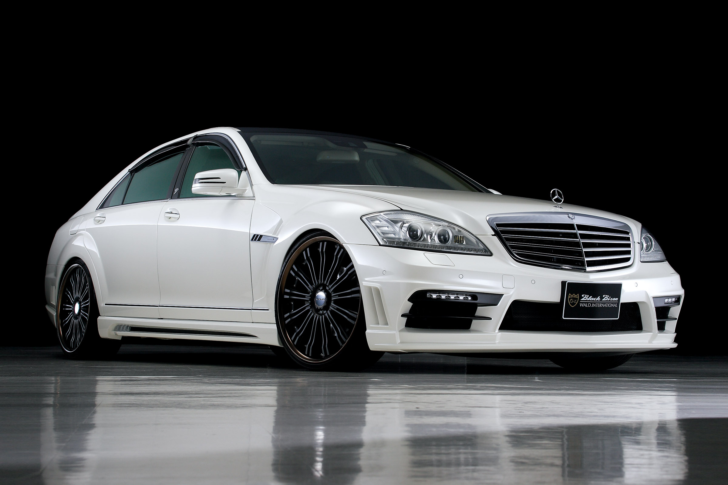 WALD Mercedes Benz S Class Sports Line Black Bison Edition
