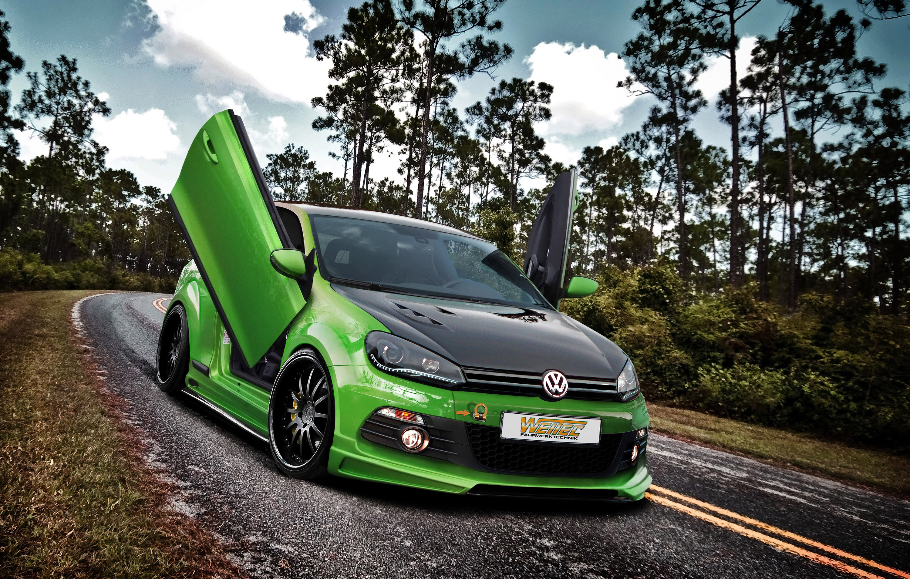 weitec volkswagen golf 6 gti individual athleticism. Black Bedroom Furniture Sets. Home Design Ideas