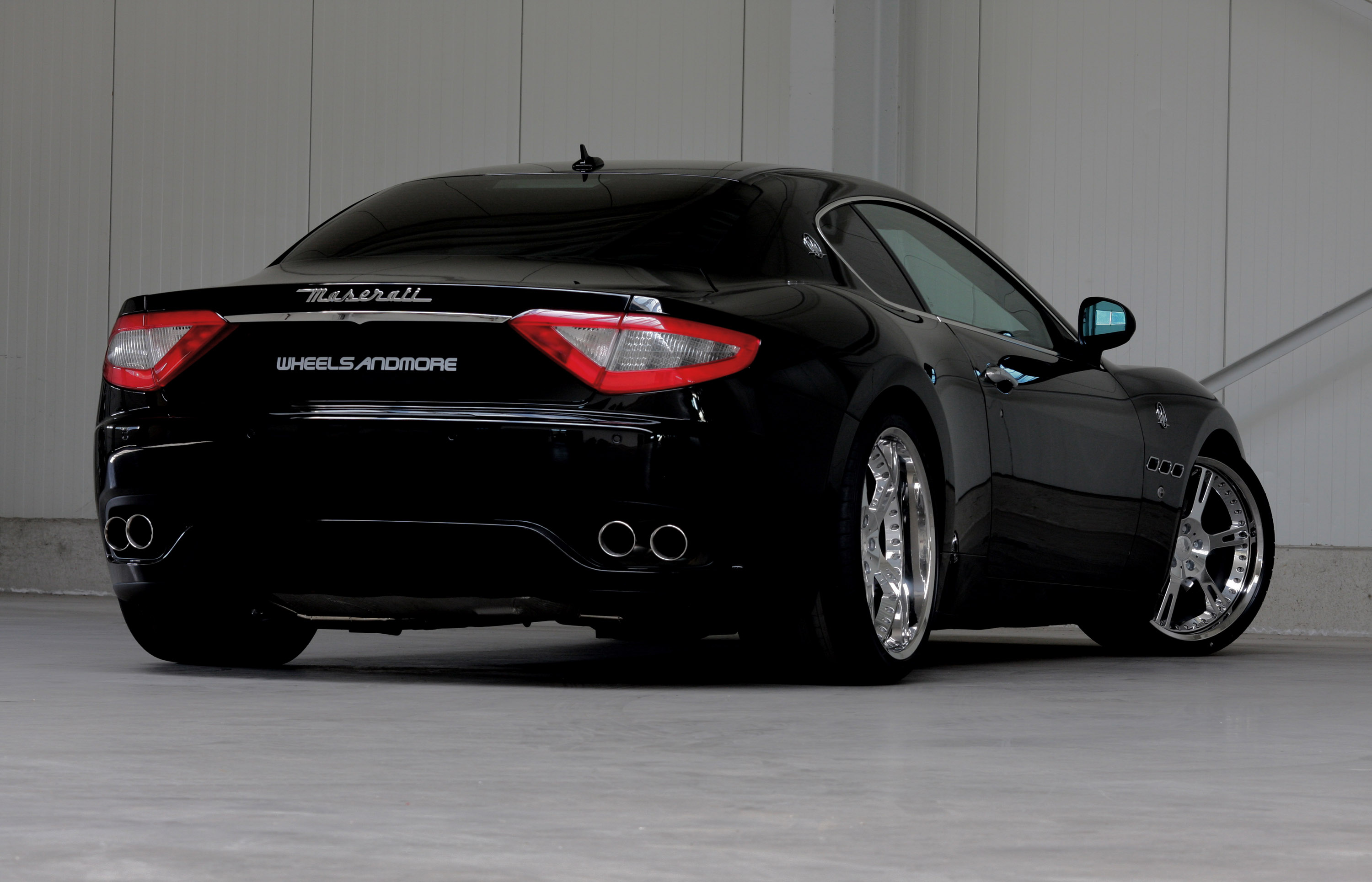 Wheelsandmore Tunes The Maserati Granturismo And Quttroporte