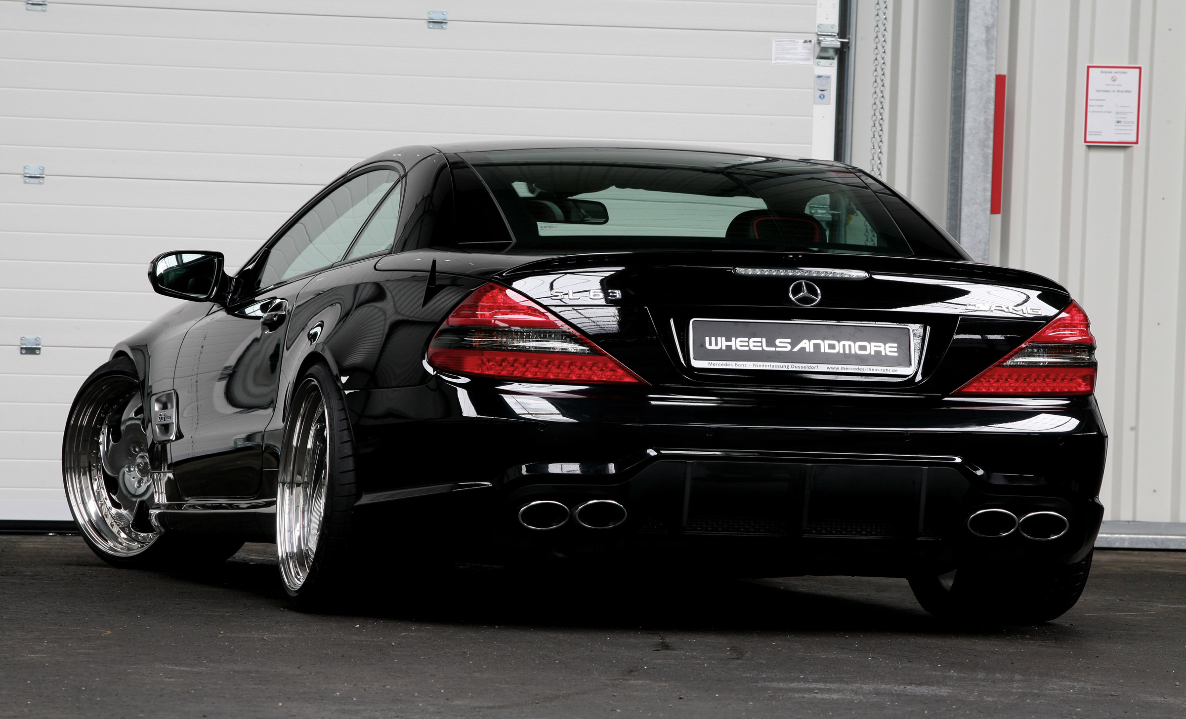 Wheelsandmore Mercedes Benz Sl63 Amg Picture 38570