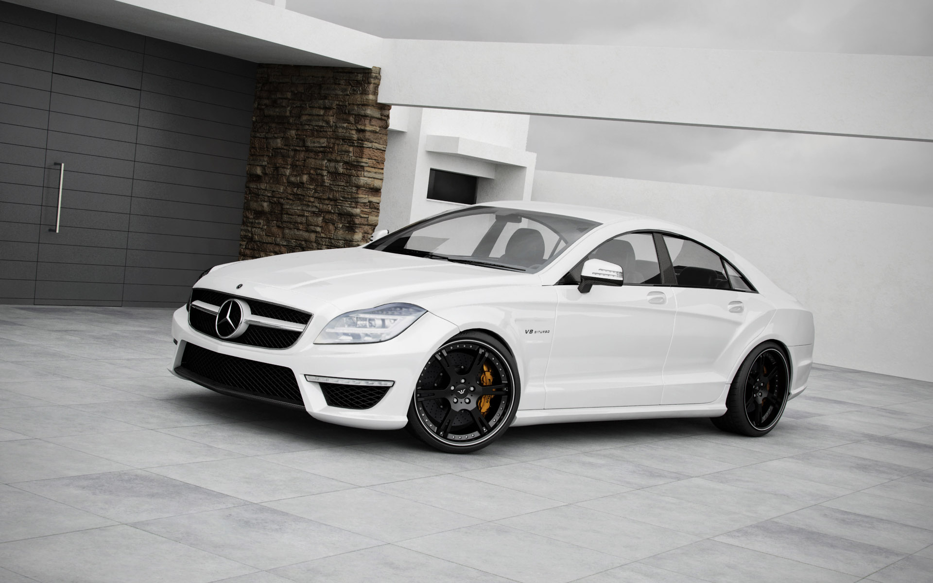 wheelsandmore mercedes cls63 amg. Black Bedroom Furniture Sets. Home Design Ideas