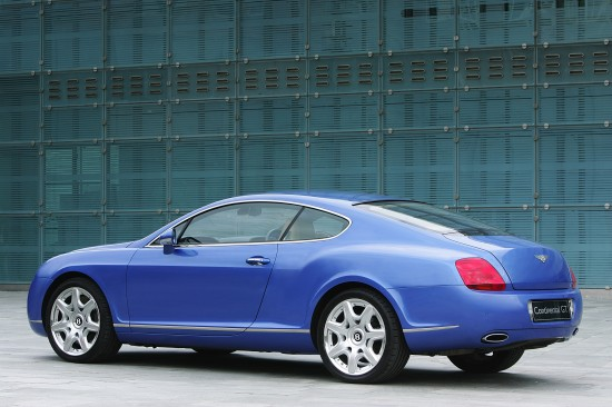2003 Bentley Continental R. 2003 Bentley Continental Gt