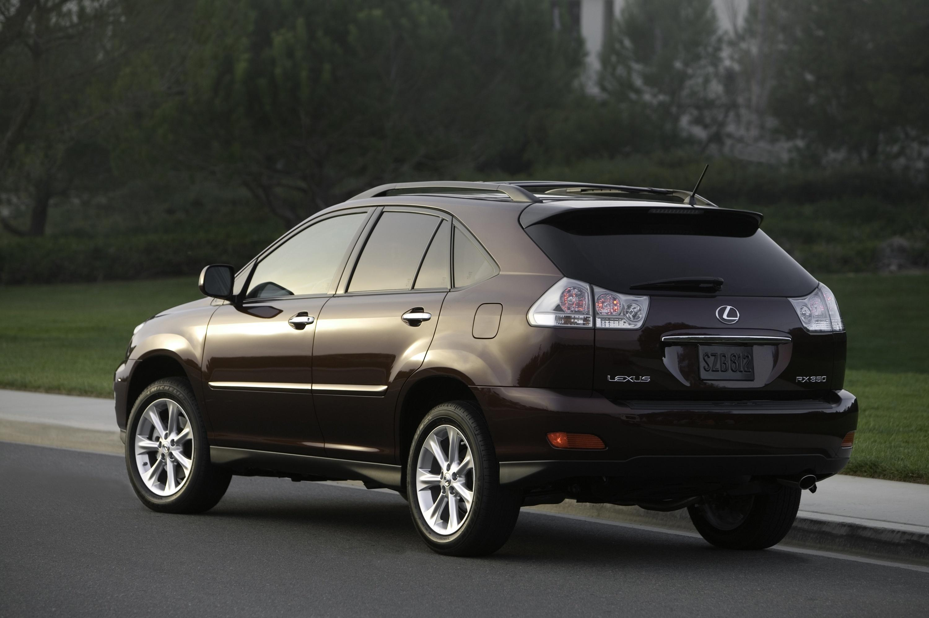 lexus rx 350 the most popular vehicle in the car based luxury utility vehicle and elegant color. Black Bedroom Furniture Sets. Home Design Ideas