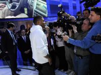 Hip-hop artist Nelly at 2010 NAIAS