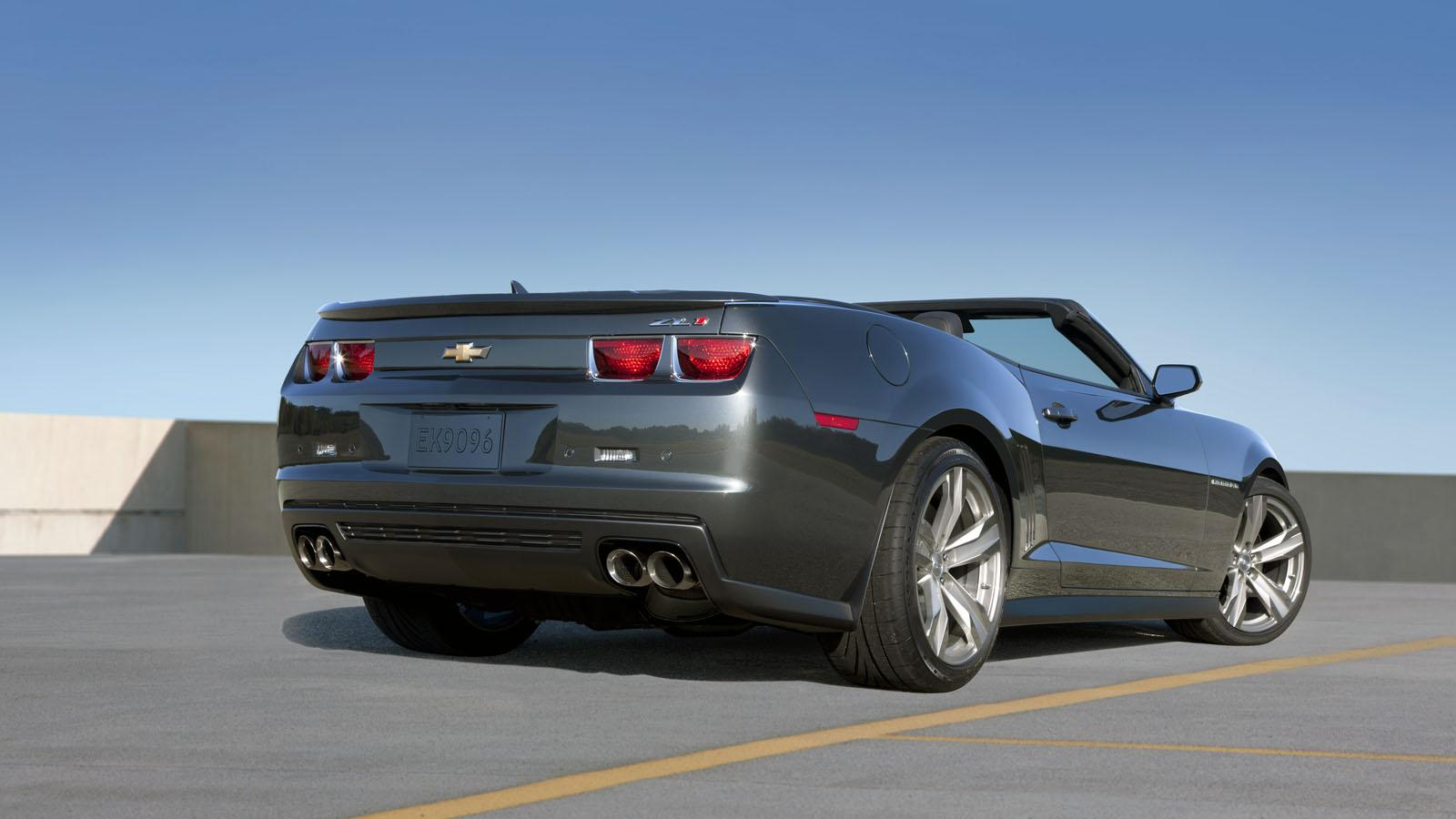 2013 Chevrolet Camaro ZL1 Convertible Picture #4 of 4